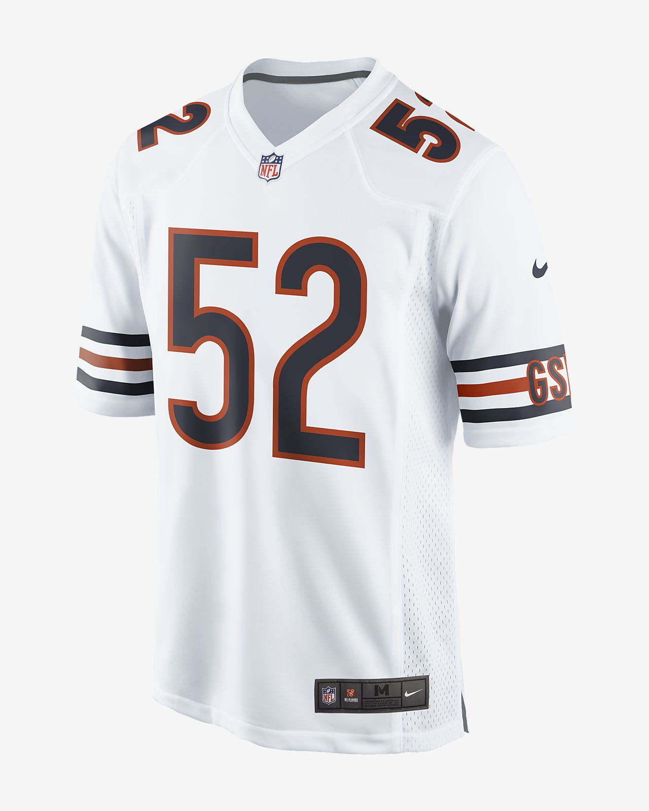 ... greece nfl chicago bears game jersey khalil mack mens football jersey  90c80 57fd8 dfe38c548