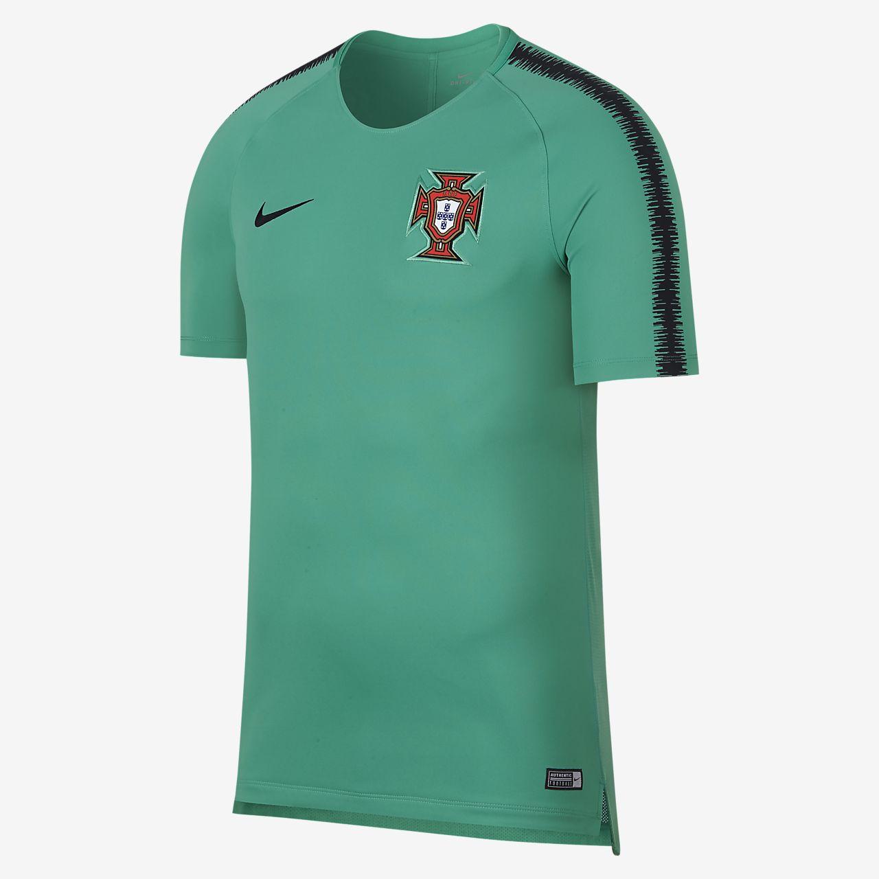 Top de fútbol para hombre Portugal Breathe Squad