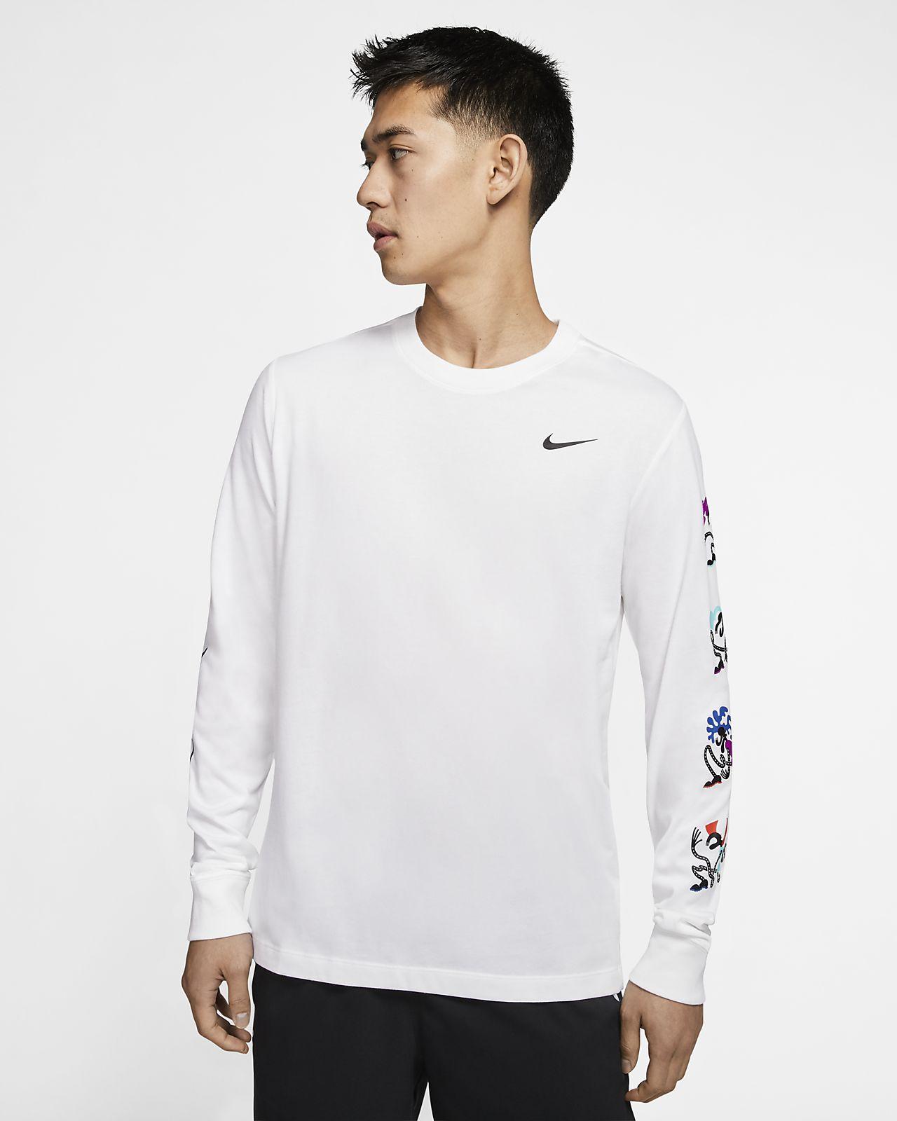 tee shirt nike manche longue