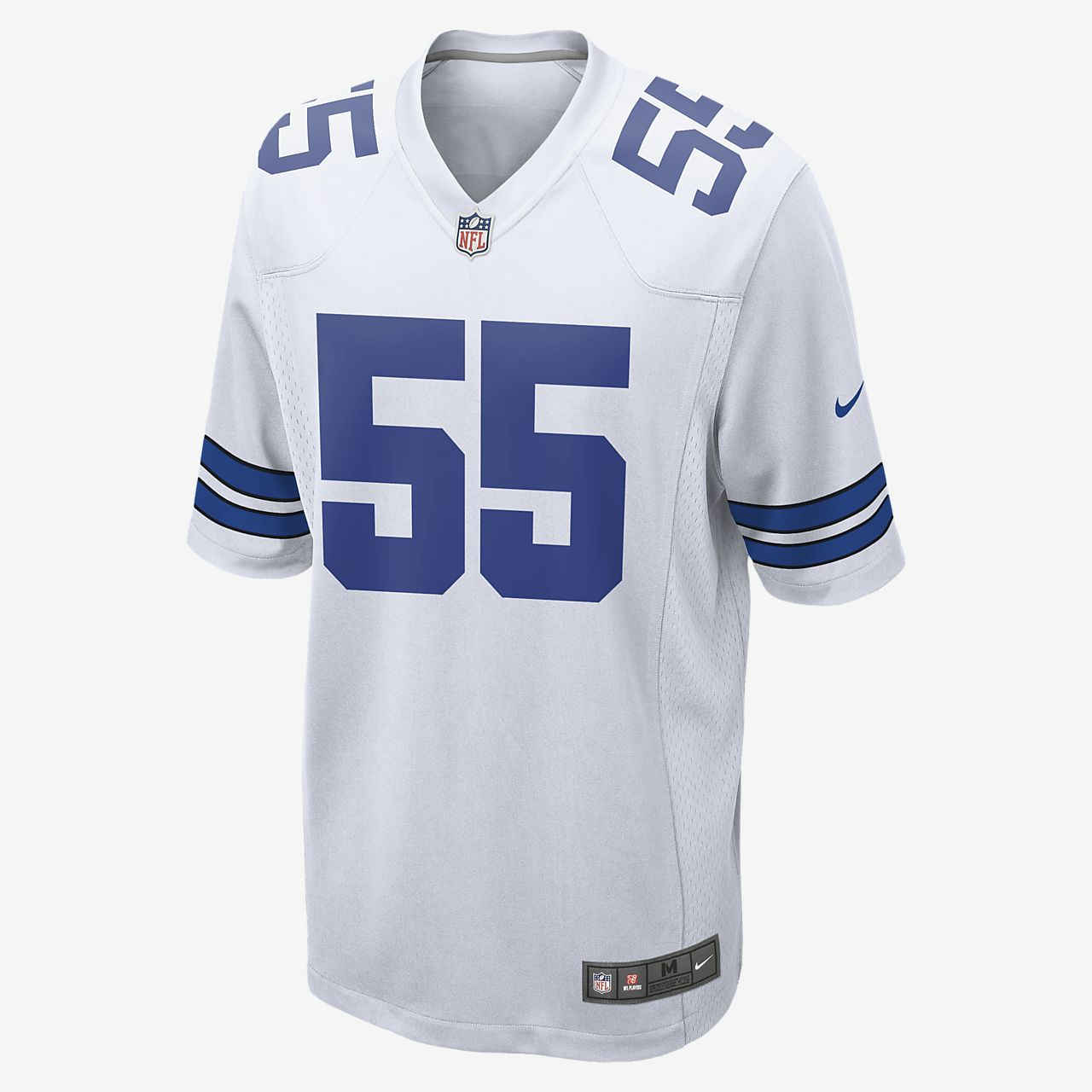 low priced 9f63b 935b0 NFL Dallas Cowboys Game (Leighton Vander Esch) Men's Football Jersey