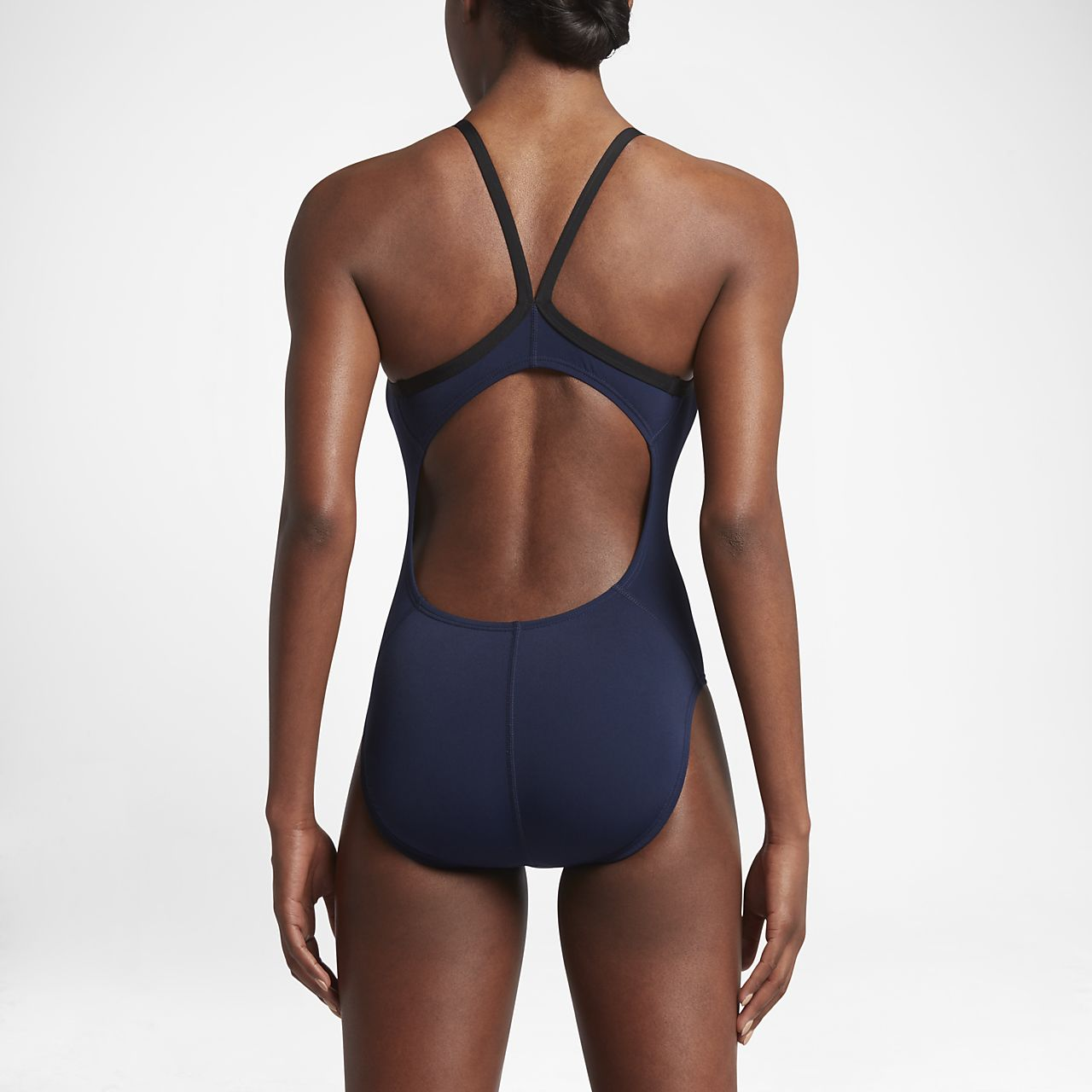 1808169071 Nike Poly Core Solid Women's Swimsuit. Nike.com
