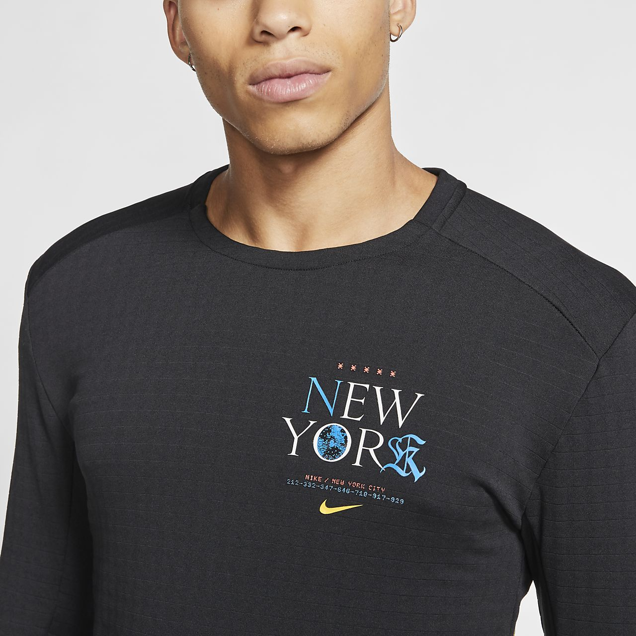nike run club nyc t shirt