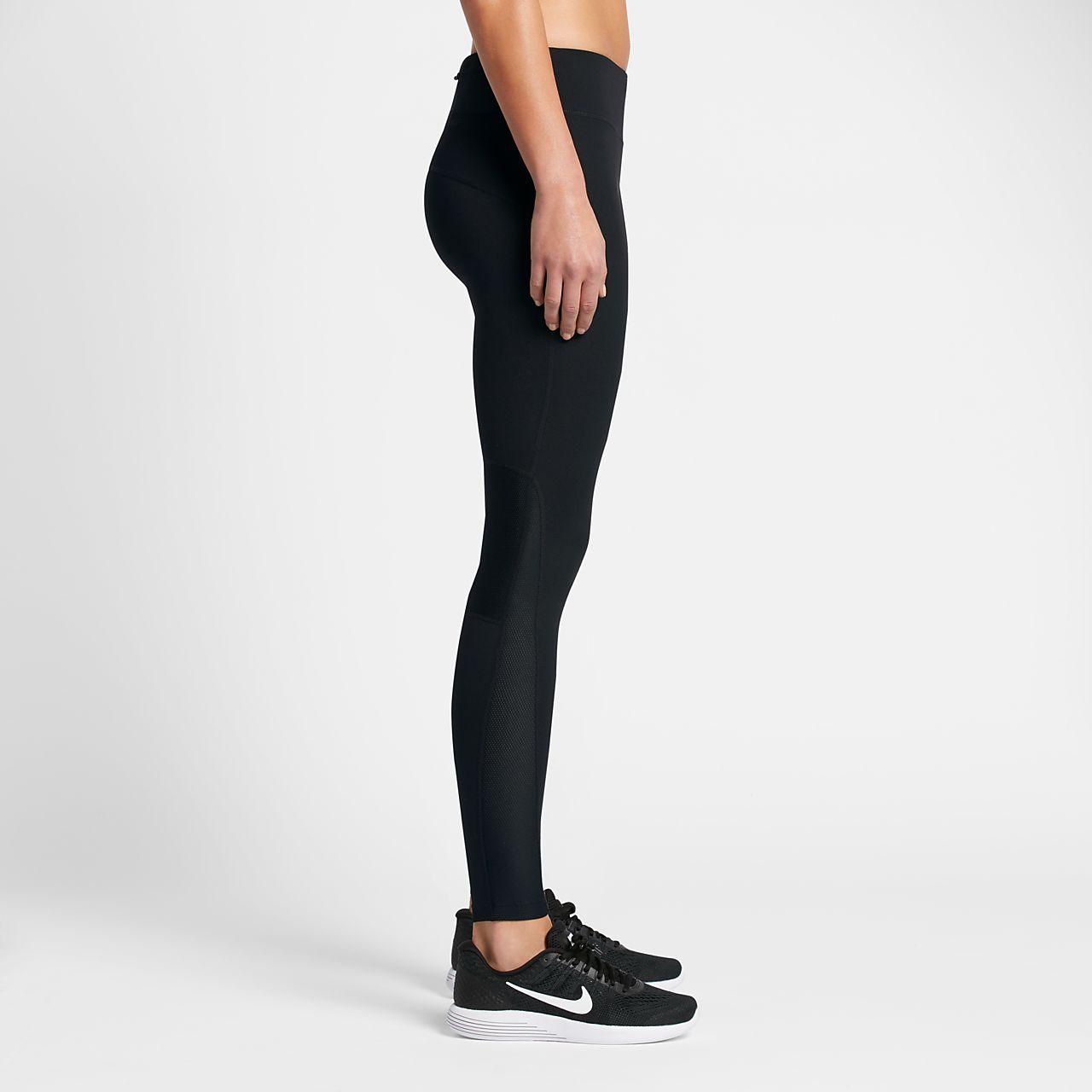 Nike Leggings Mesh Panels