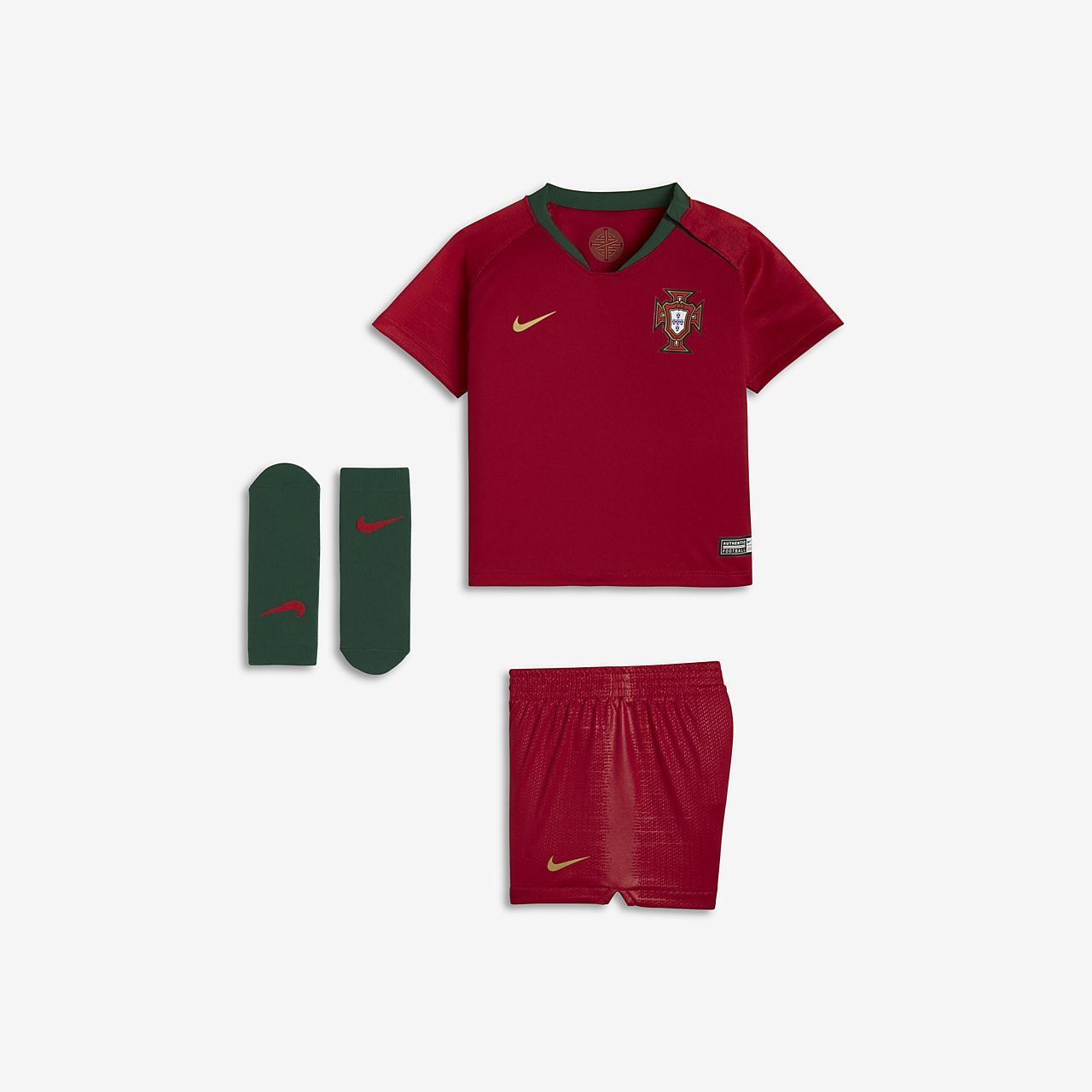 buy popular c4cf1 7a093 2018 Portugal Stadium Home Baby & Toddler Football Kit