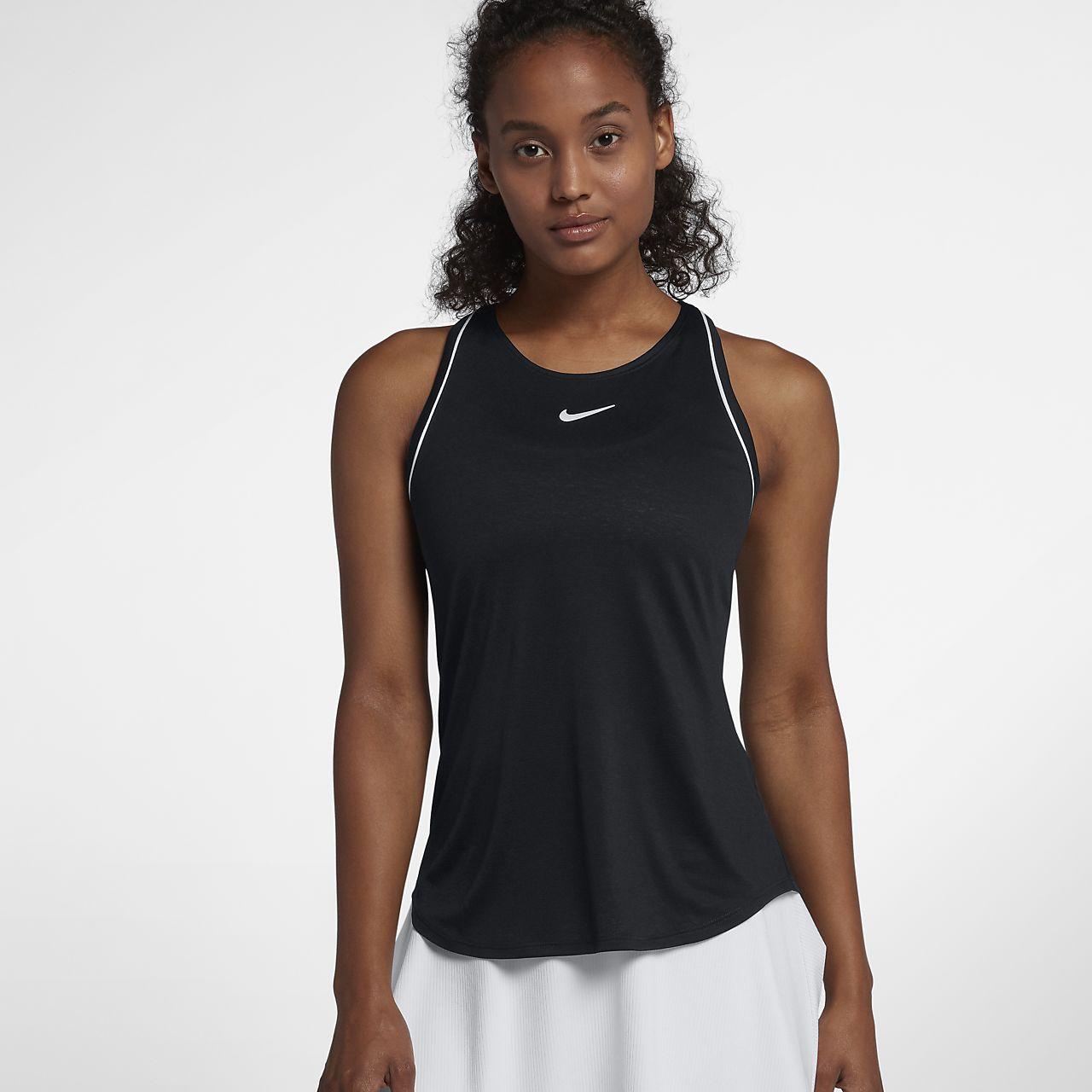 Camiseta de tirantes de tenis para mujer NikeCourt Dri-FIT