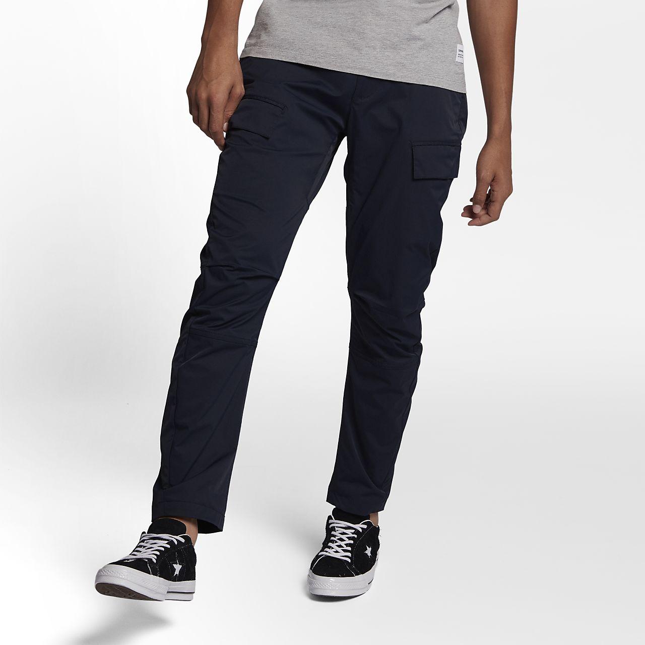Converse Fleece Jogger Men's Sweatpants Black