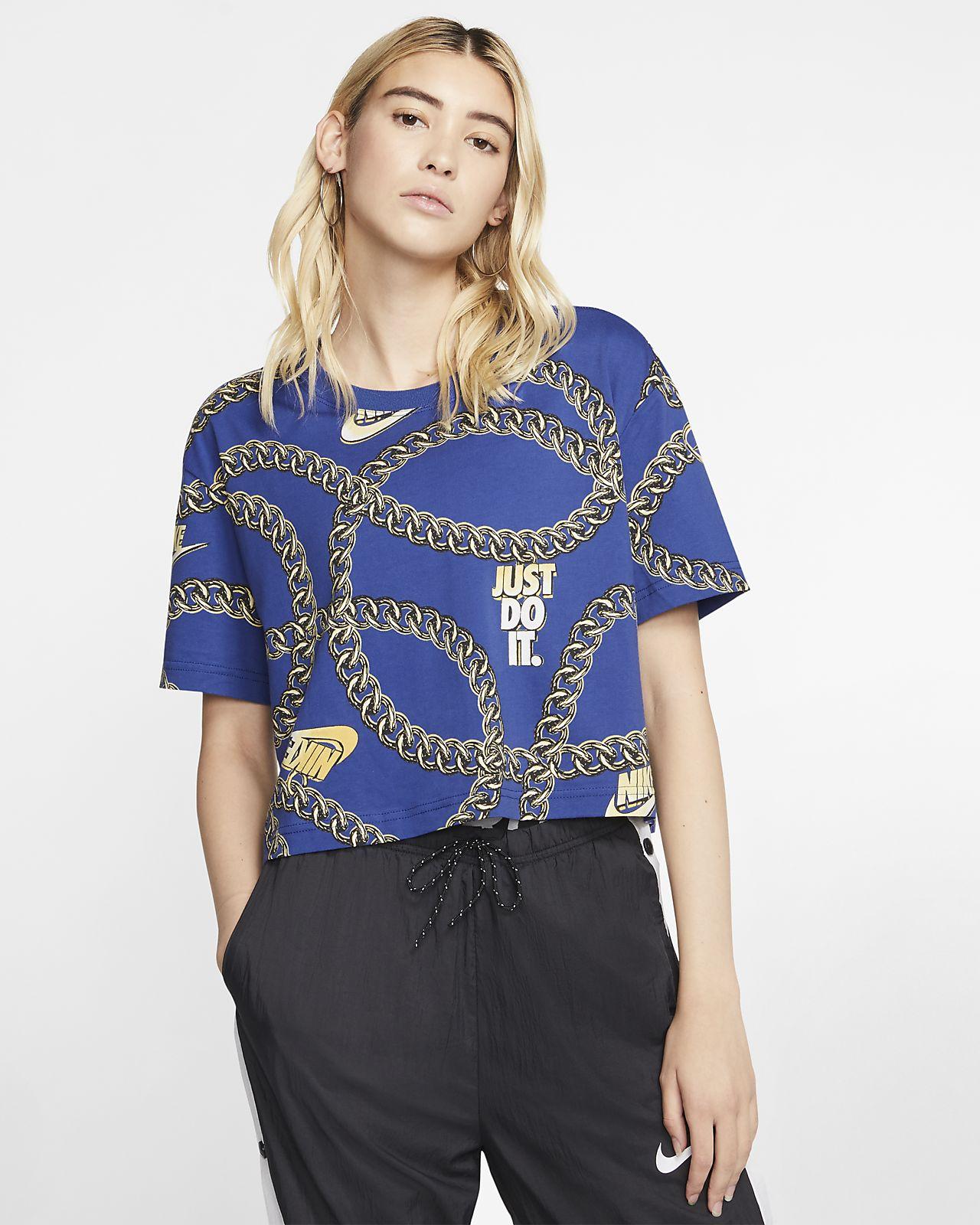 Nike Sportswear Icon Clash Women's Cropped T-Shirt