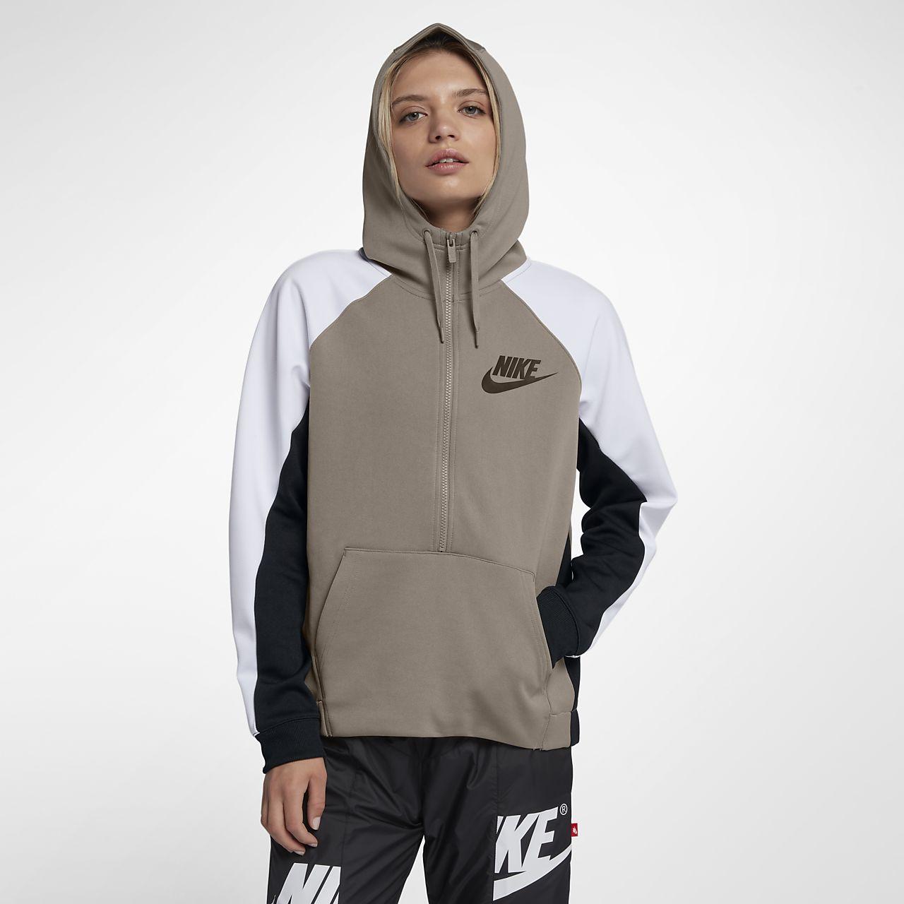 ... Sweat à capuche demi-zippé Nike Sportswear pour Femme