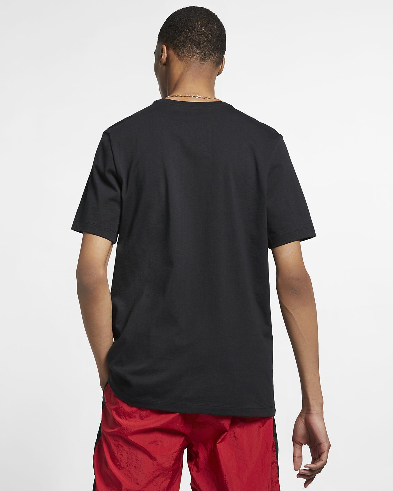 bc04d9207002 Jordan Legacy AJ4 Woven Labels Men s T-Shirt. Nike.com ID
