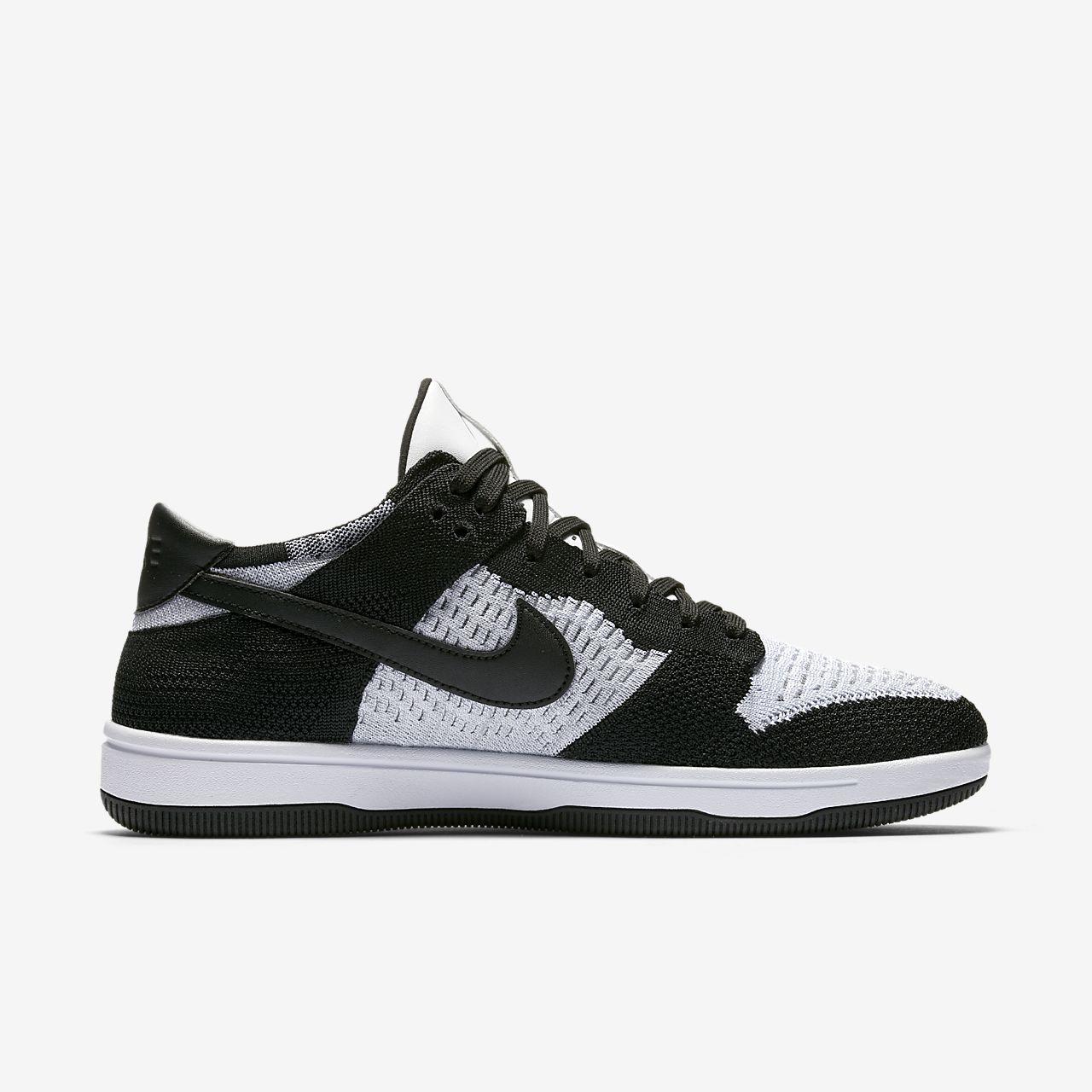 Nike Dunk High Tops Kids Black Apple Logo Nike USA TrainersConvenient