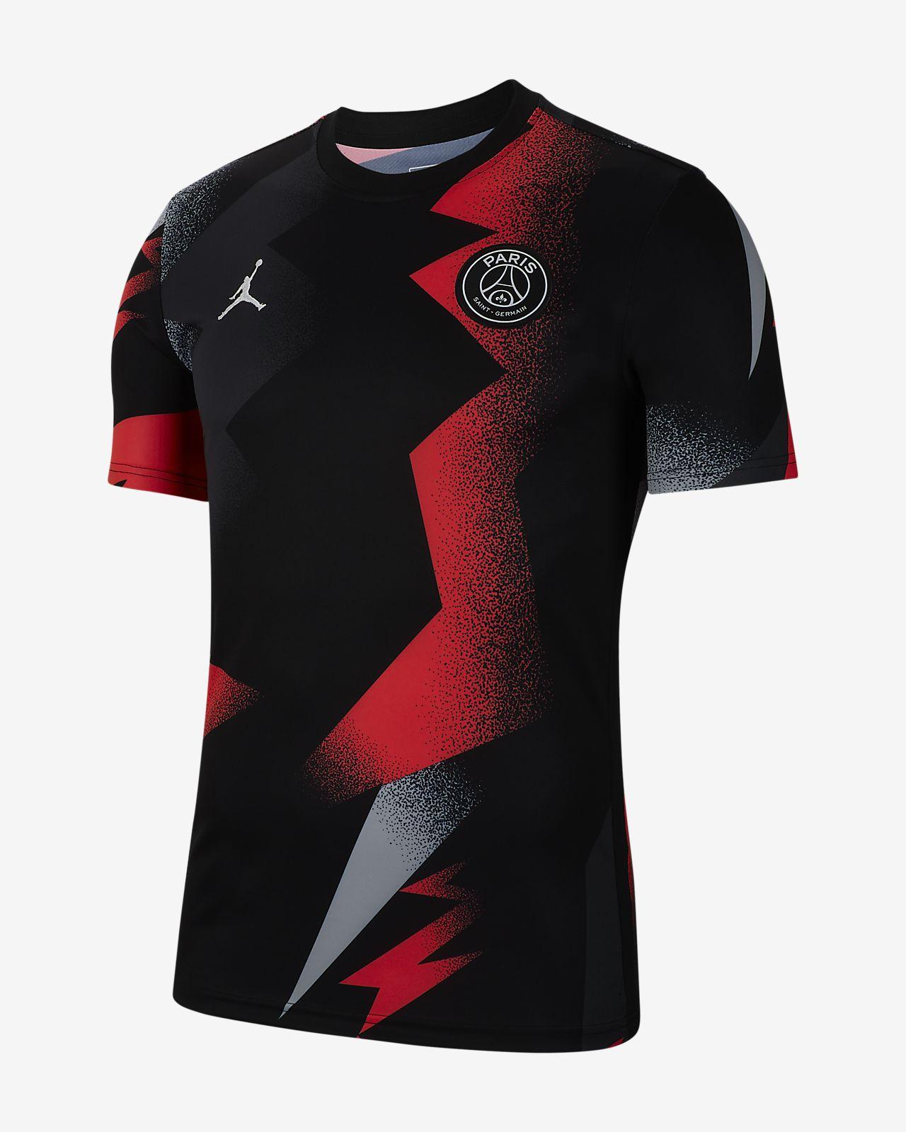 Męska koszulka piłkarska z krótkim rękawem Jordan x Paris Saint-Germain