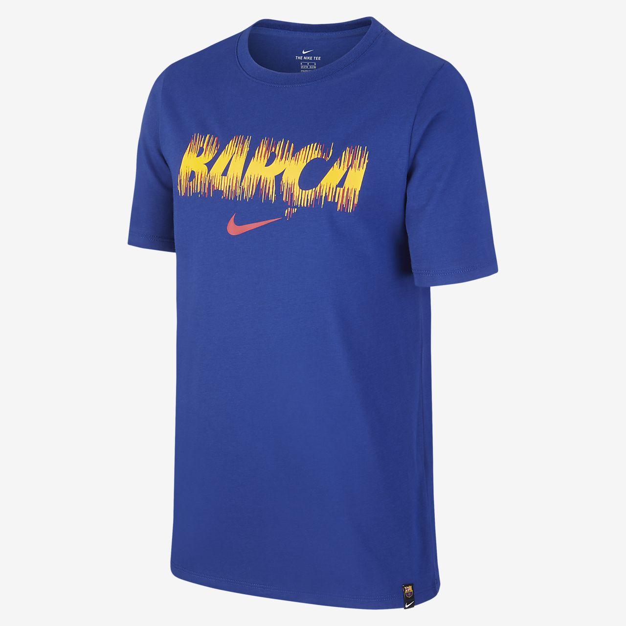 FC Barcelona Dri-FIT Older Kids' (Boys') T-Shirt