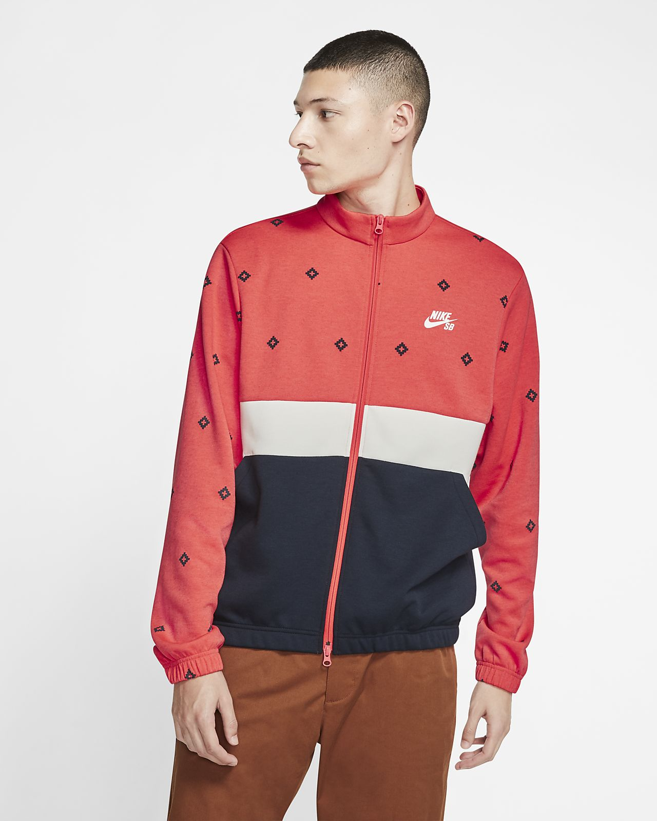 Nike SB Dri-FIT Men's Printed Skate Track Jacket