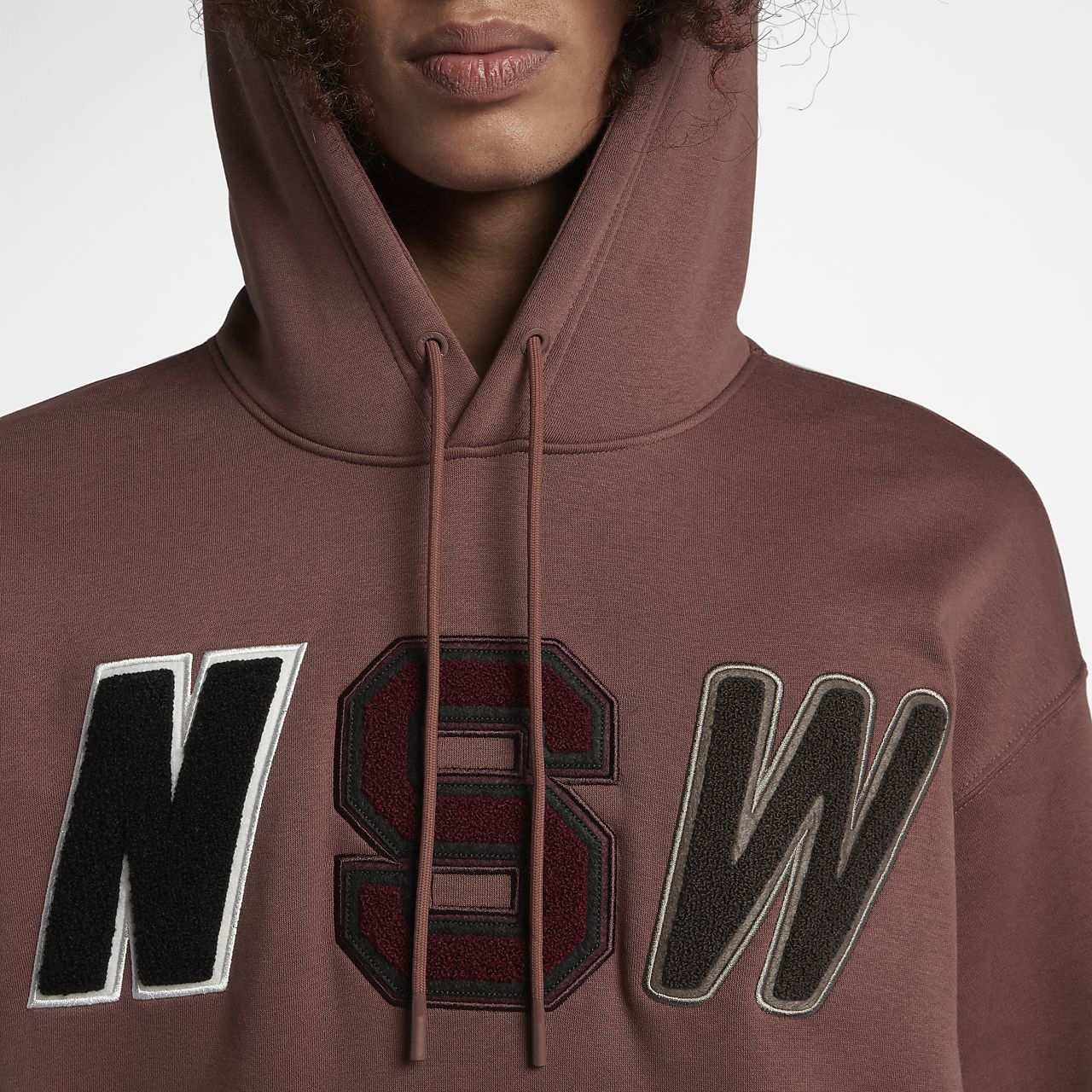 fuerte embalaje baratas para la venta comprar Sudadera con capucha de vellón de ajuste suelto para hombre Nike Sportswear  NSW