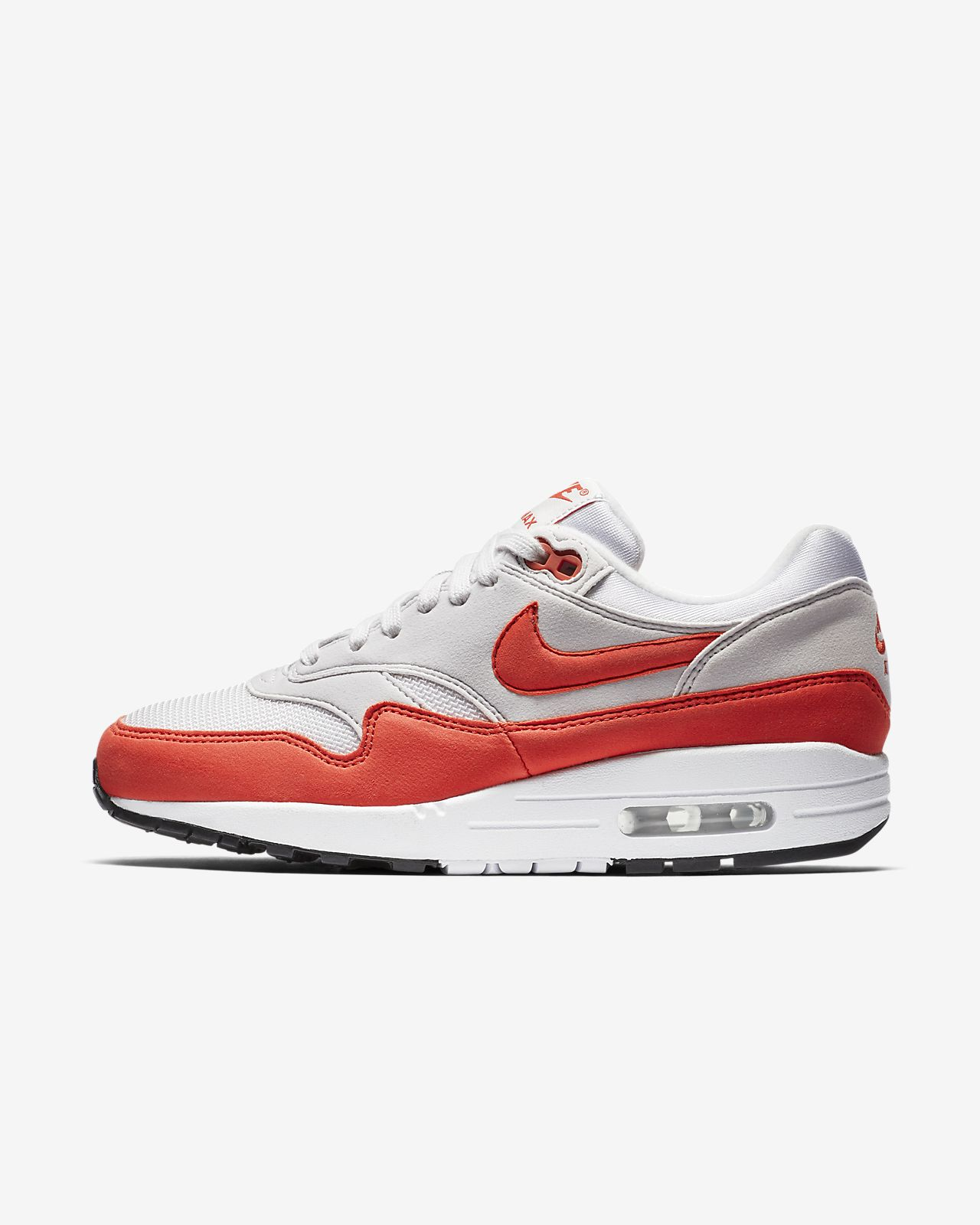 nike air max 1 white and red nz