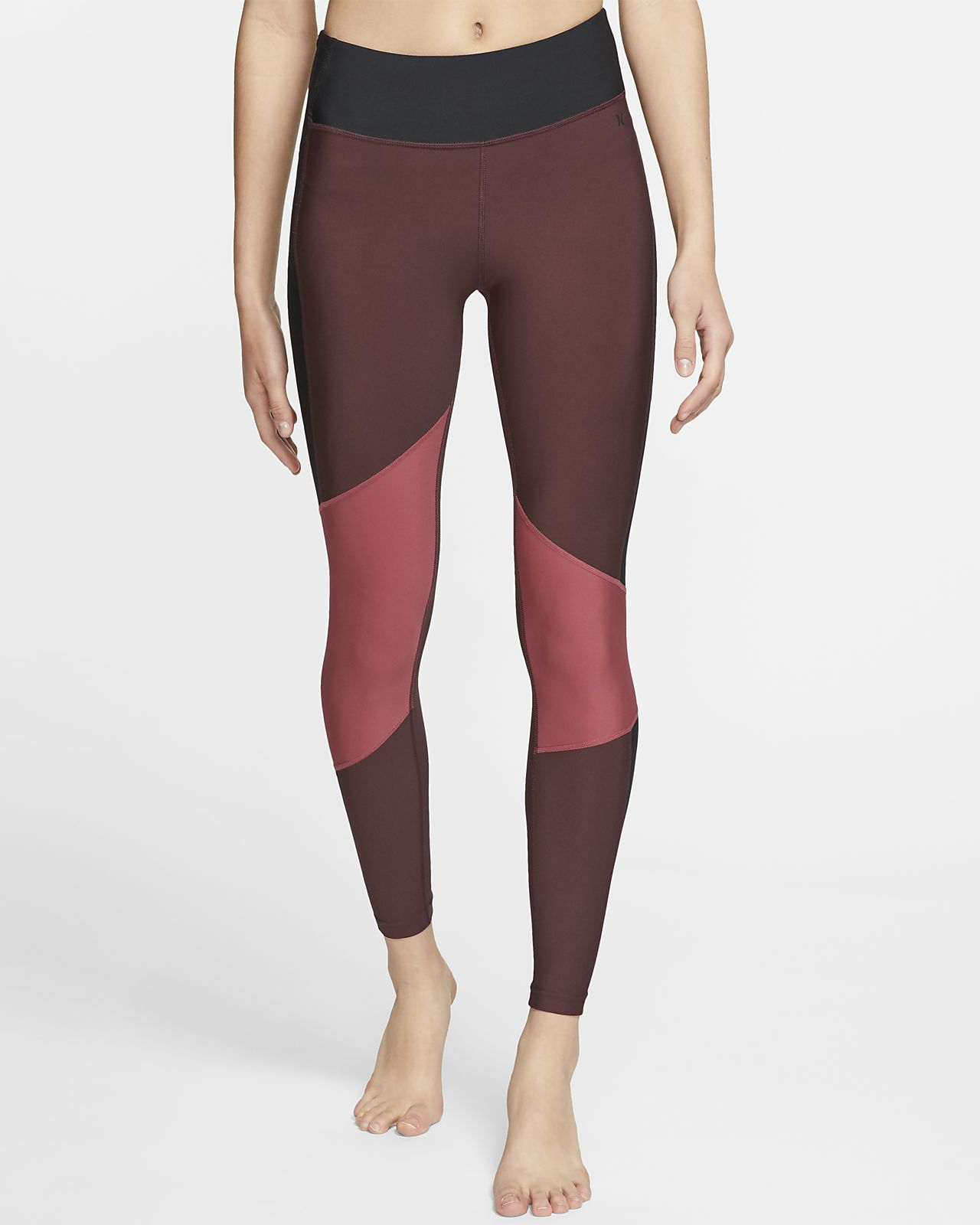 Hurley Quick Dry Street Ready Leggings de surf - Dona