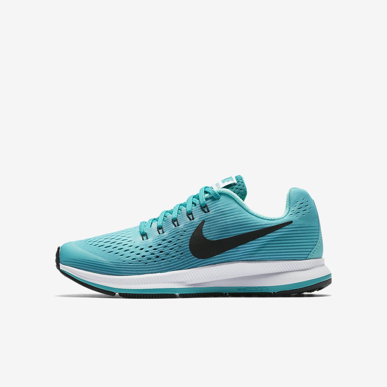 sports shoes 1a12a 98700 marron Nike Zoom Pegasus 34 Enfant Chaussures à bout rond noires femme 34  bglLe2