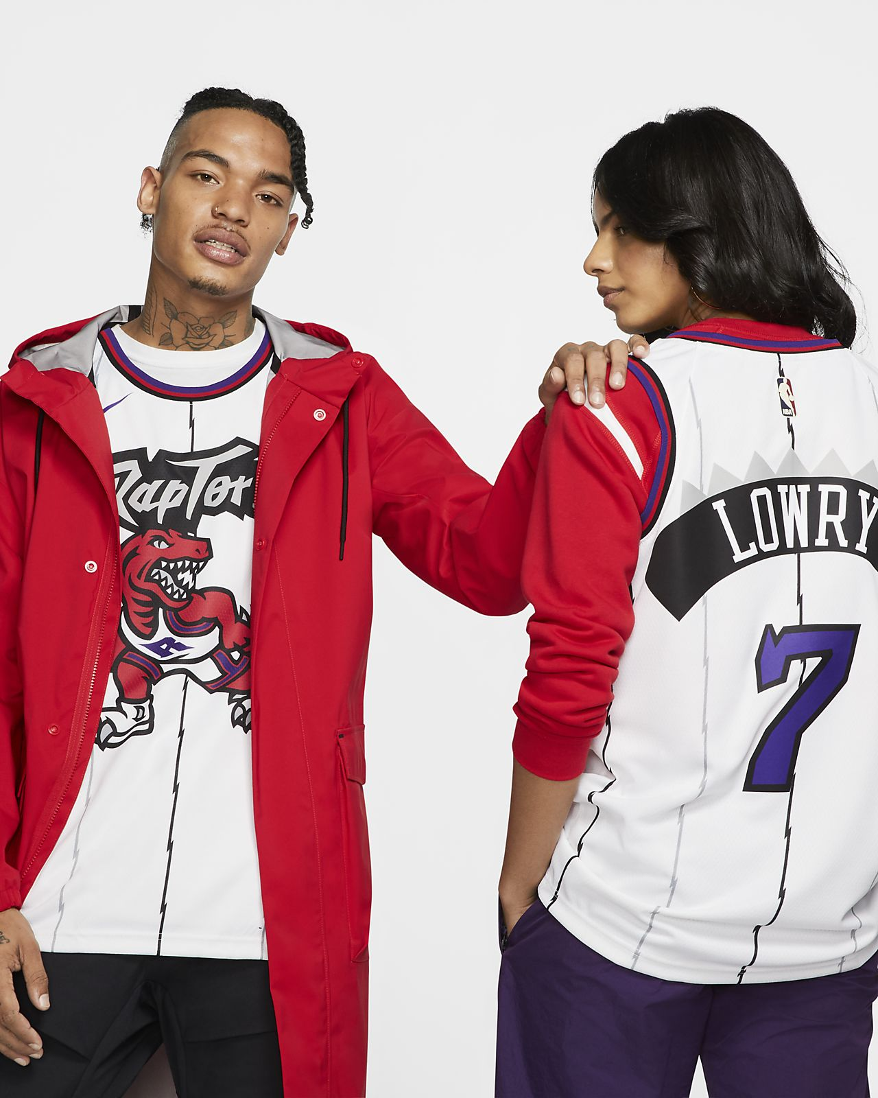 Kyle Lowry Raptors Classic Edition Swingman Nike NBA-jersey