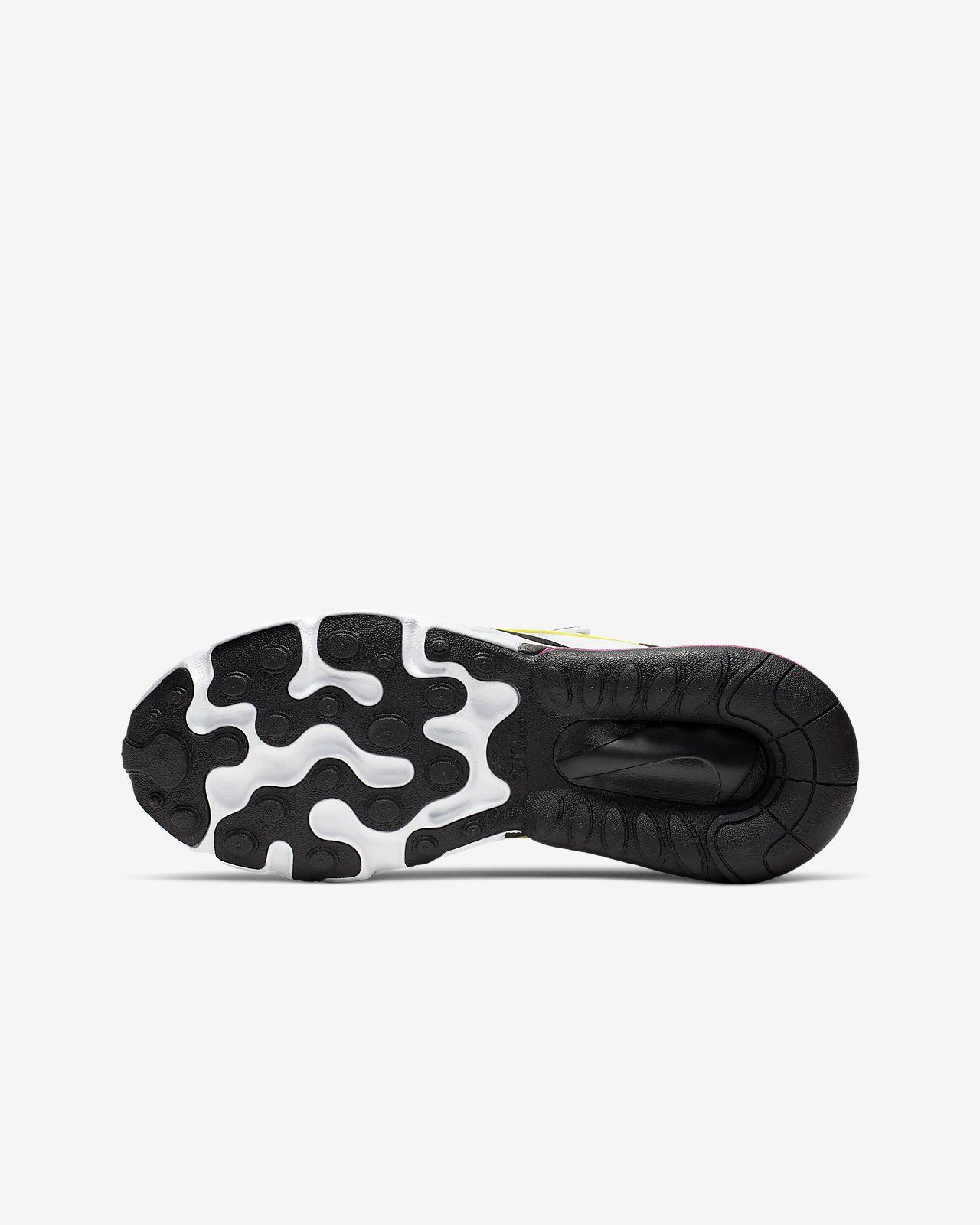 pas mal 043df 48f4b Nike Air Max 270 React Big Kids' Shoe