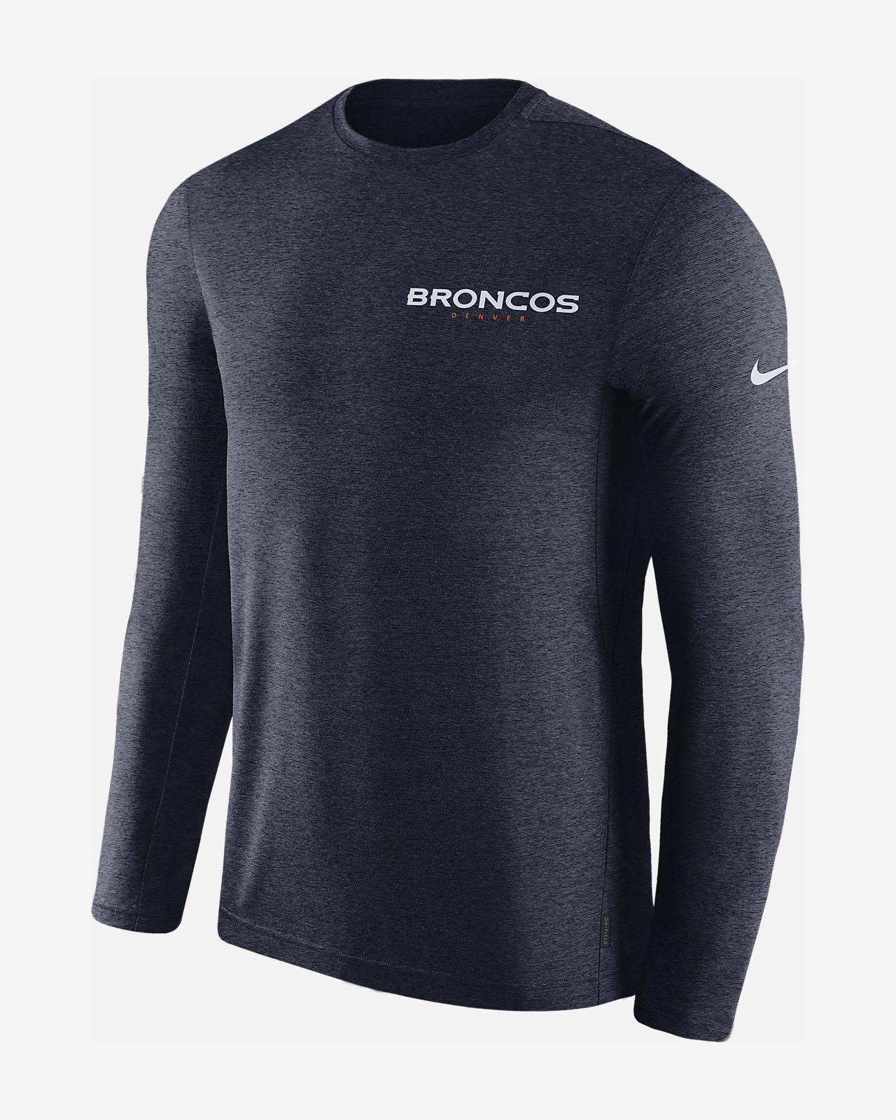 5edae3ae9e78 Nike Dri-FIT Coach (NFL Broncos) Men s Long-Sleeve Top. Nike.com