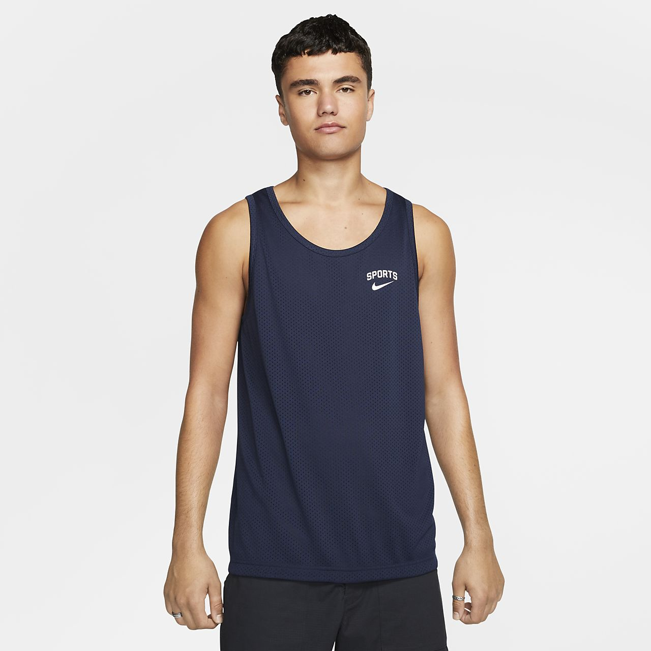 Nike Hombre Camiseta Con Para Sb Dri Tirantes Estampado Fit Skateboarding De 8PNOynvmw0
