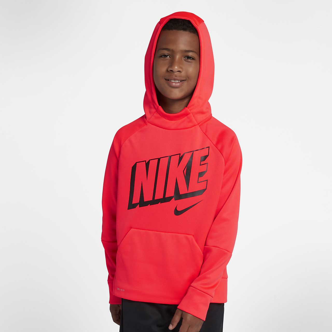 669e0afced Nike Therma Big Kids' (Boys') Pullover Training Hoodie. Nike.com