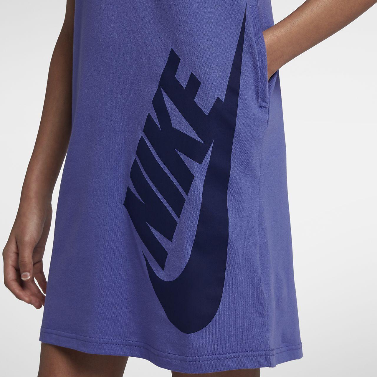 Nike Sportswear Big Kids Girls T Shirt Dress Nike