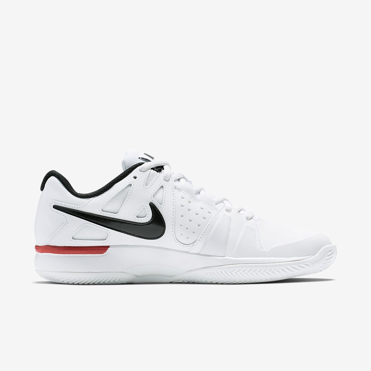 Nike Air Vapor Advantage Mens White/Black/University Red D301902AC Shoes