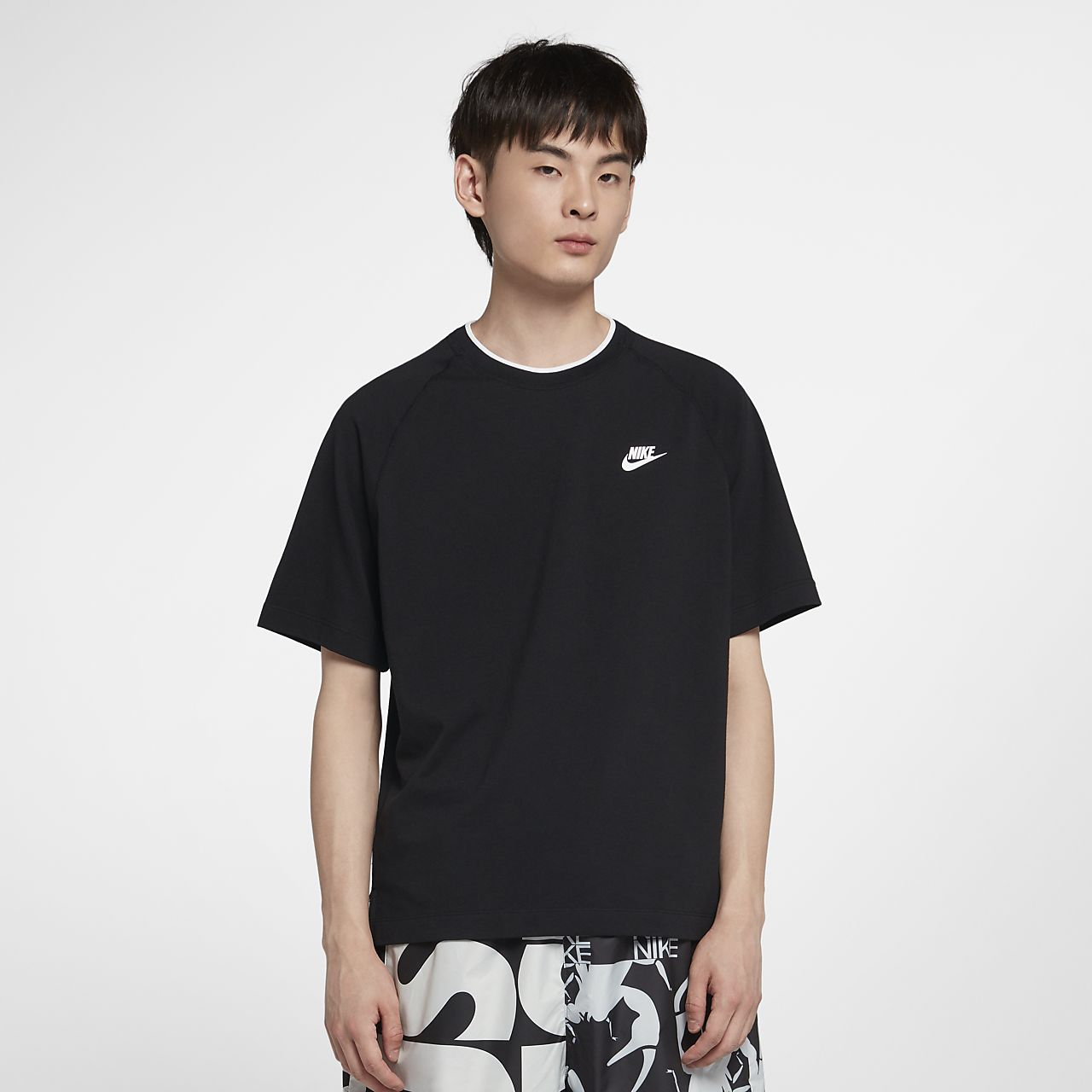 Nike Sportswear 男子短袖针织上衣