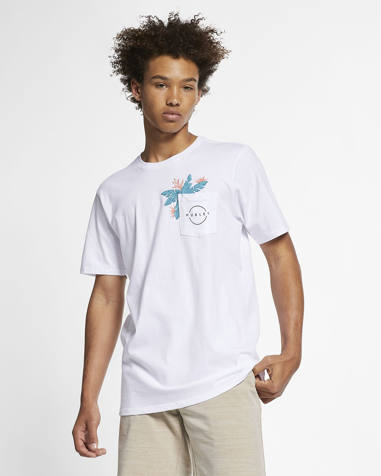 4988956d Hurley Hanoi Men's Pocket T-Shirt. Nike.com
