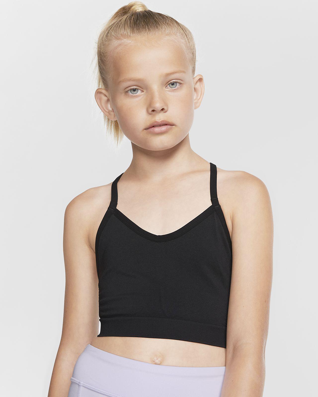 Nike Dri-FIT-sports-bh til piger