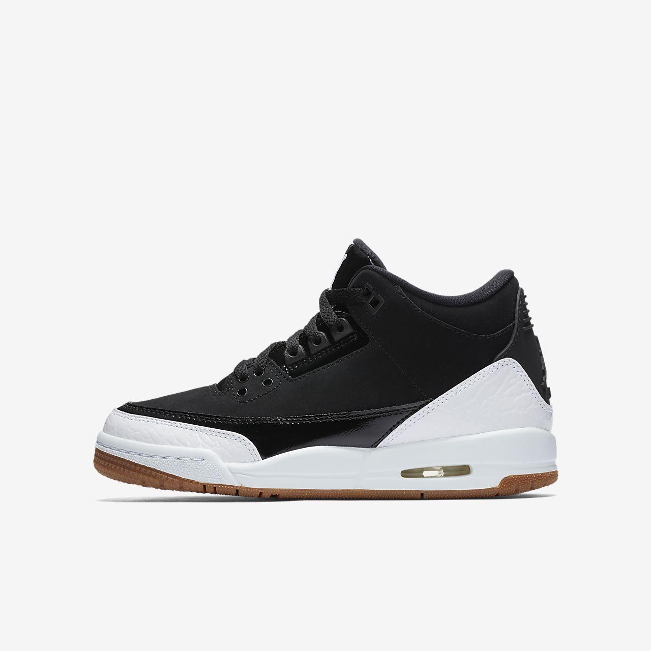 new concept cd889 2a1f6 ... where to buy chaussure air jordan 3 retro pour enfant plus âgé c8fa6  16330 ...