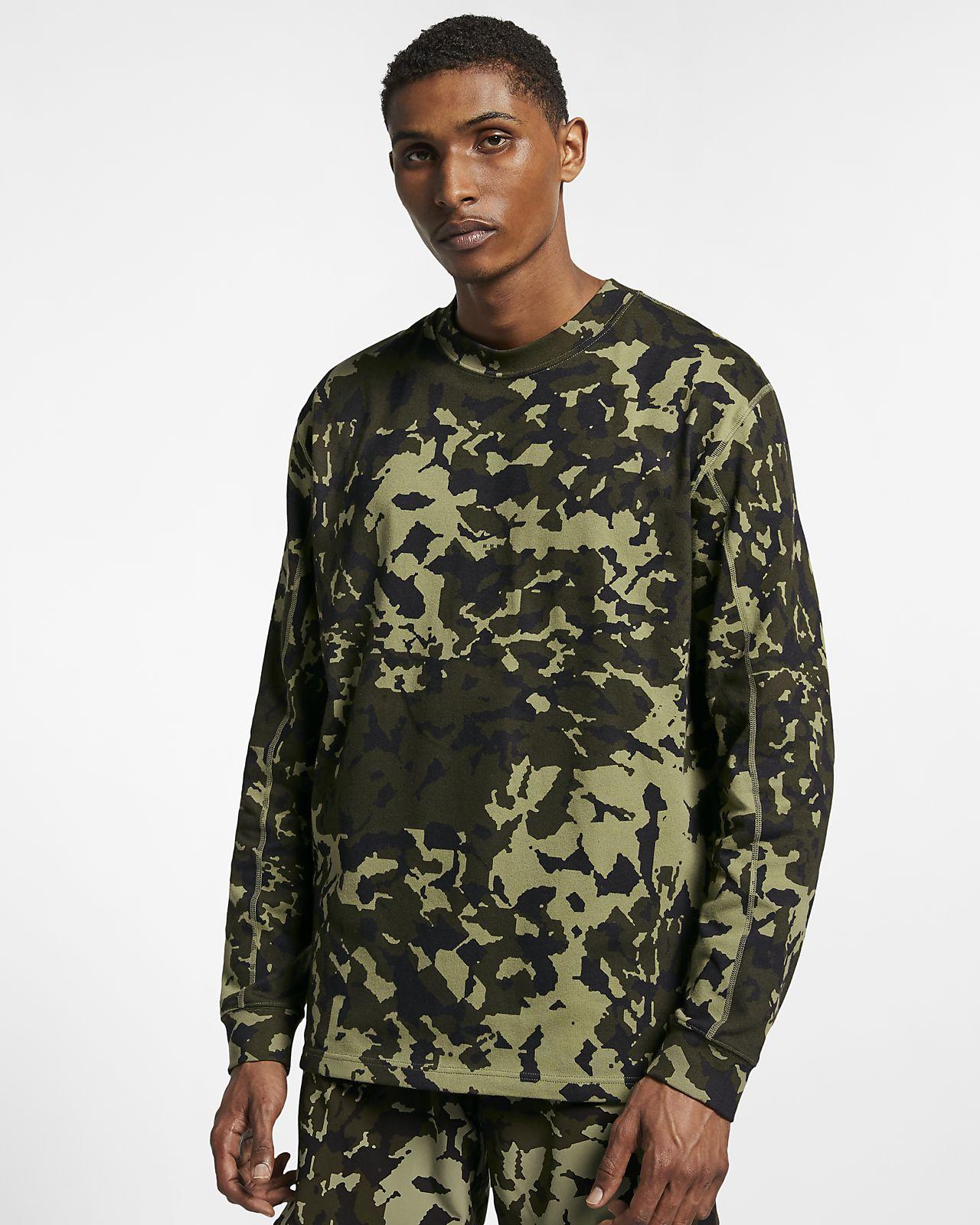 Nike x MMW 男子印花长袖上衣