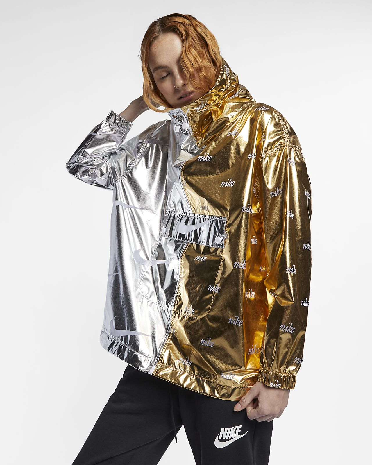 Veste métallisée Nike Sportswear pour Femme