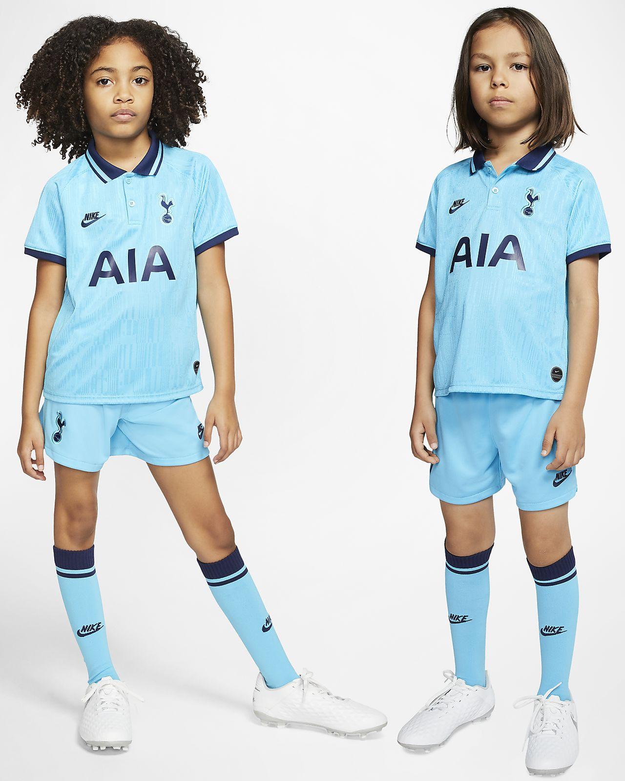 Kit alternativo para niños talla pequeña 2019/20 del Tottenham Hotspur