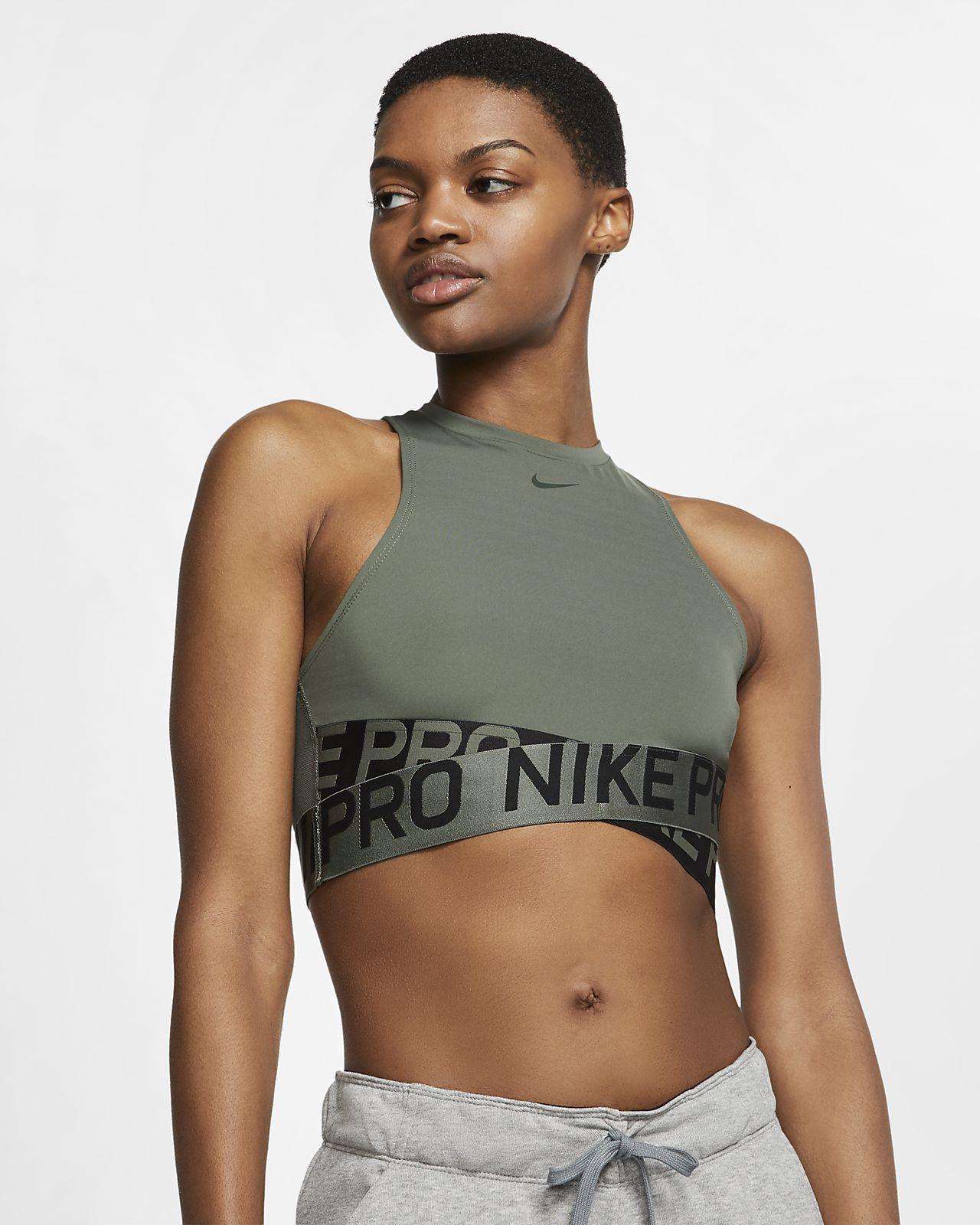 Canotta Nike Pro Intertwist - Donna