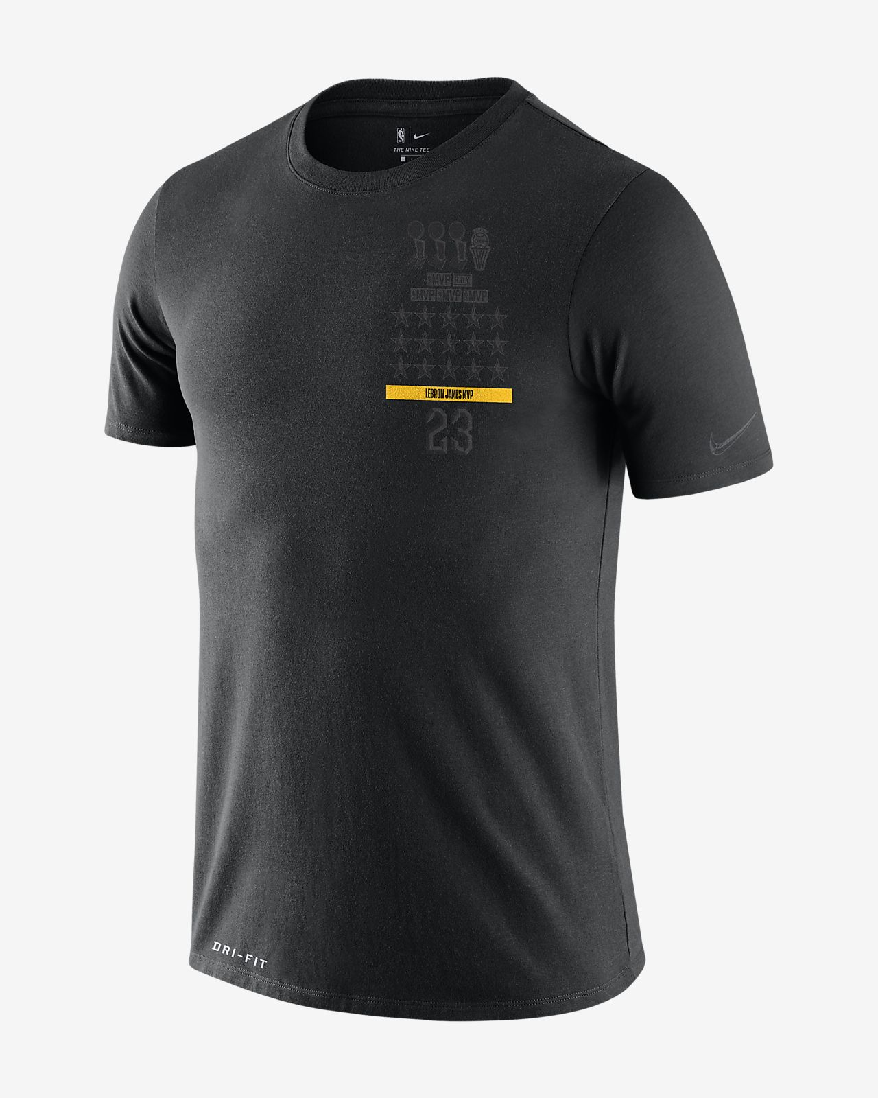 LeBron James Nike Dri-FIT «MVP» NBA-T-skjorte til herre