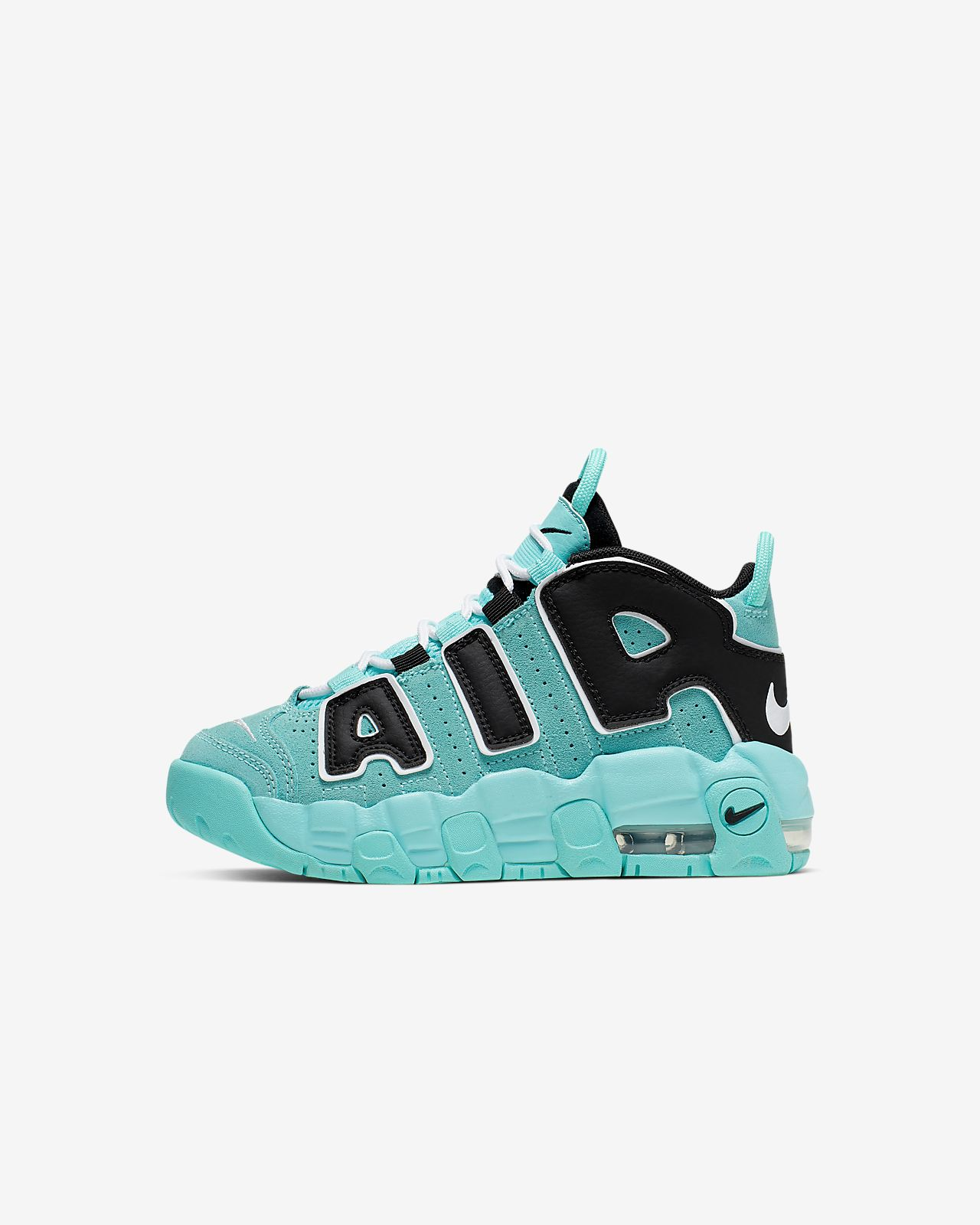 to buy nice cheap los angeles Nike Air More Uptempo Little Kids' Shoe