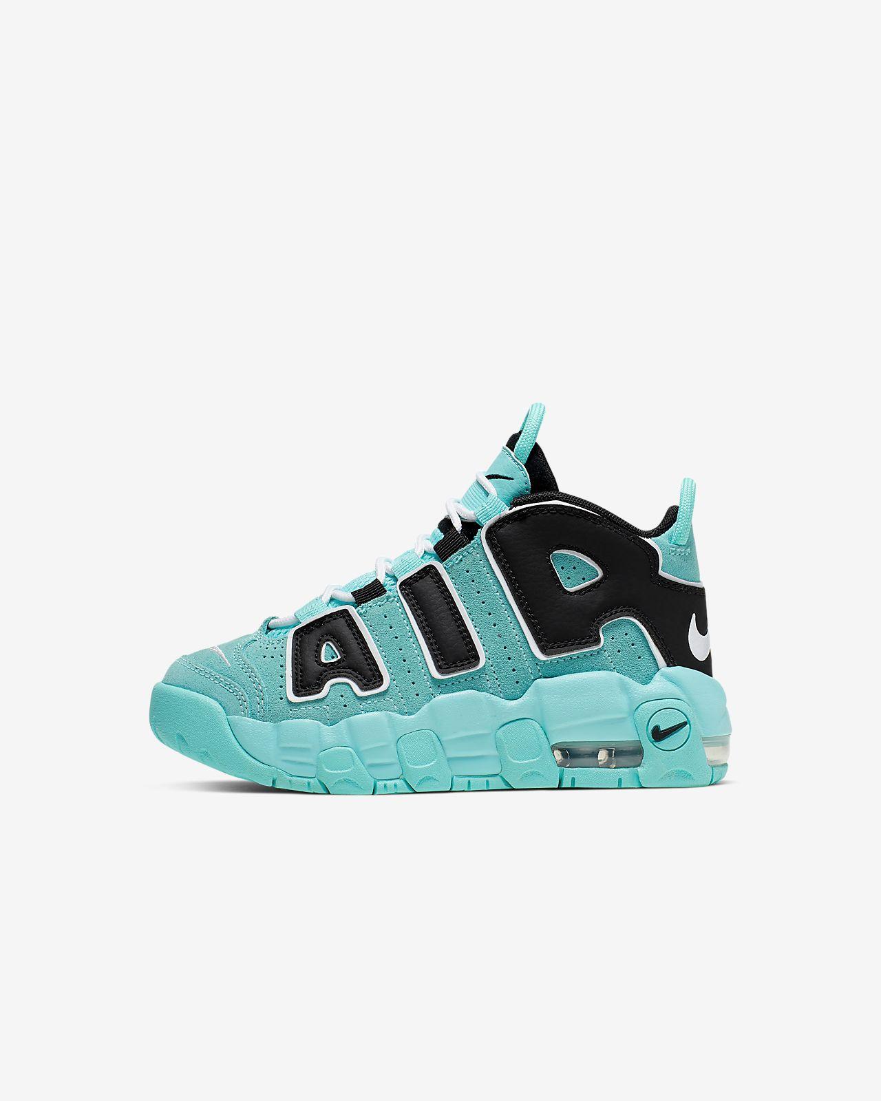 Calzado para niño talla pequeña Nike Air More Uptempo