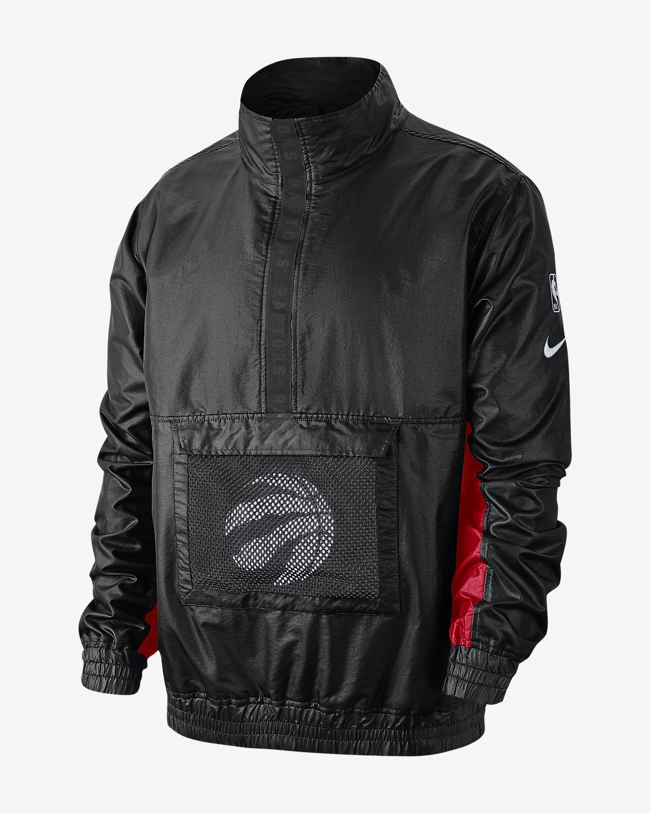 Chamarra de la NBA ligera para hombre Toronto Raptors Nike