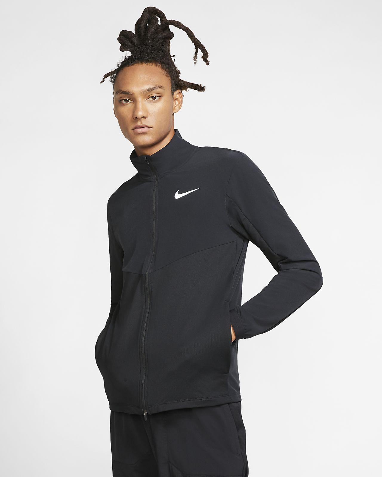 Nike Element 男子全长拉链开襟跑步夹克