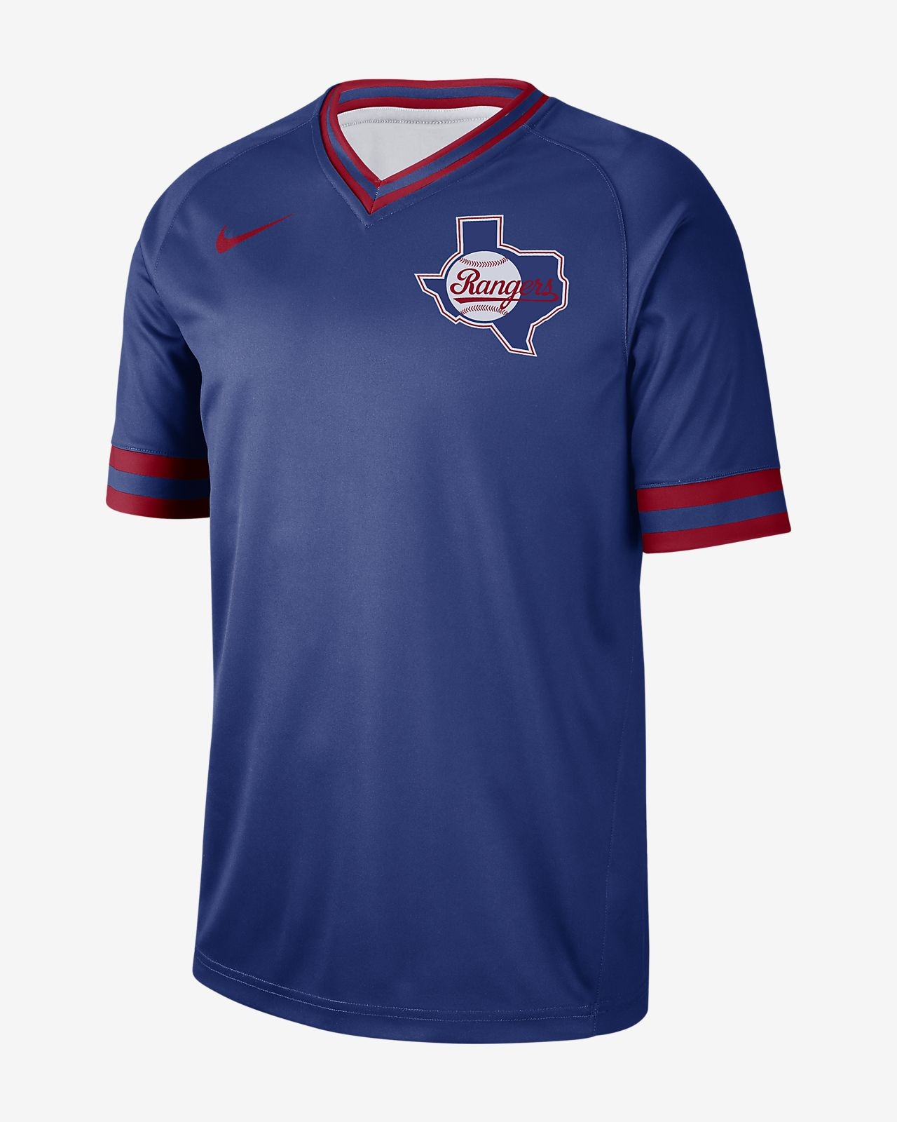 Nike Legend V-Neck (MLB Rangers) Men's T-Shirt