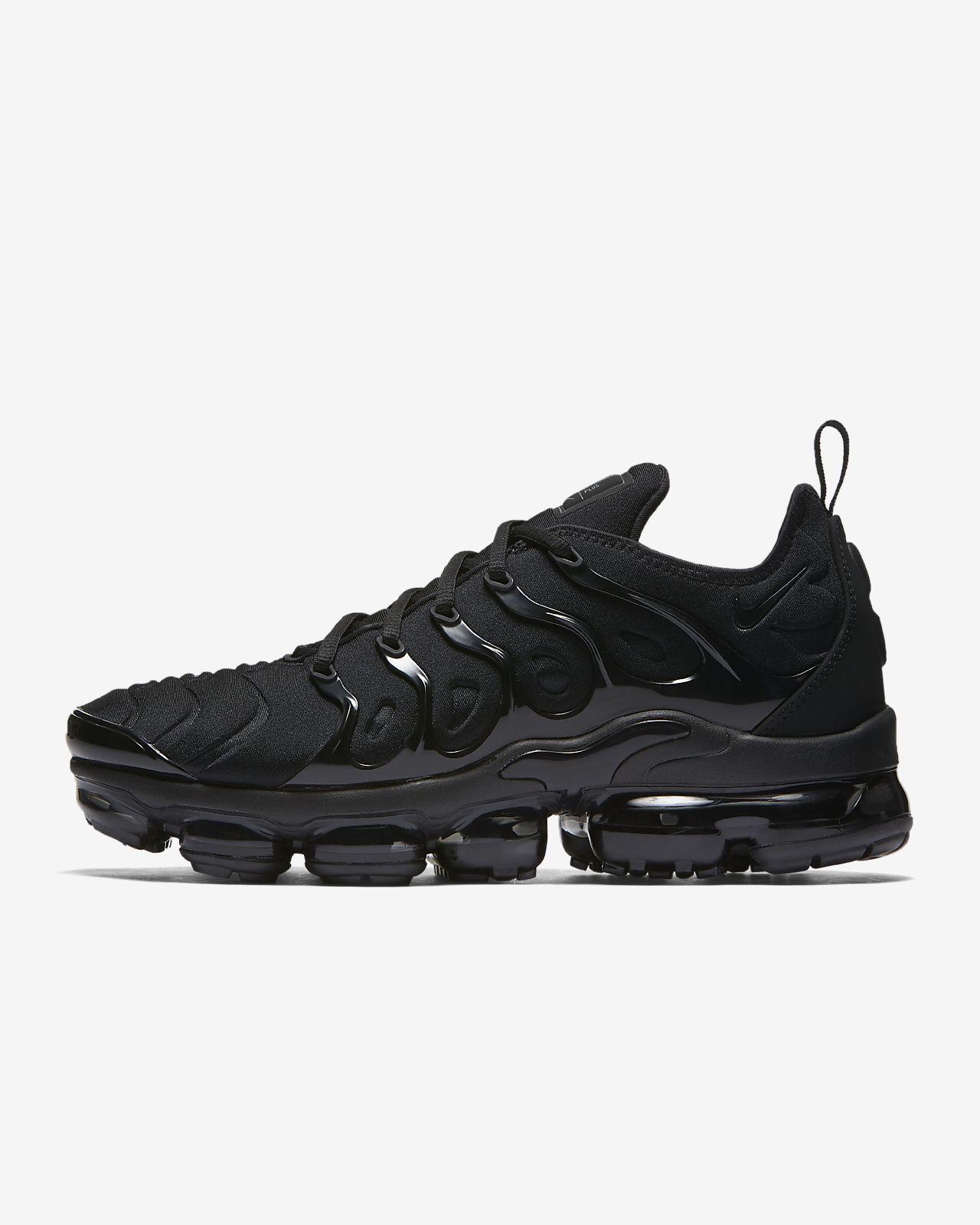 Nike Férfi Nike Air VaporMax Plus FeketeFeketeSötét Szürke