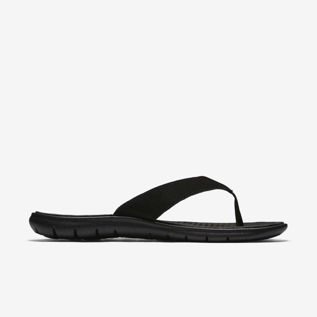 Nike Hurley Fusion Girls Sandal Shoes Black