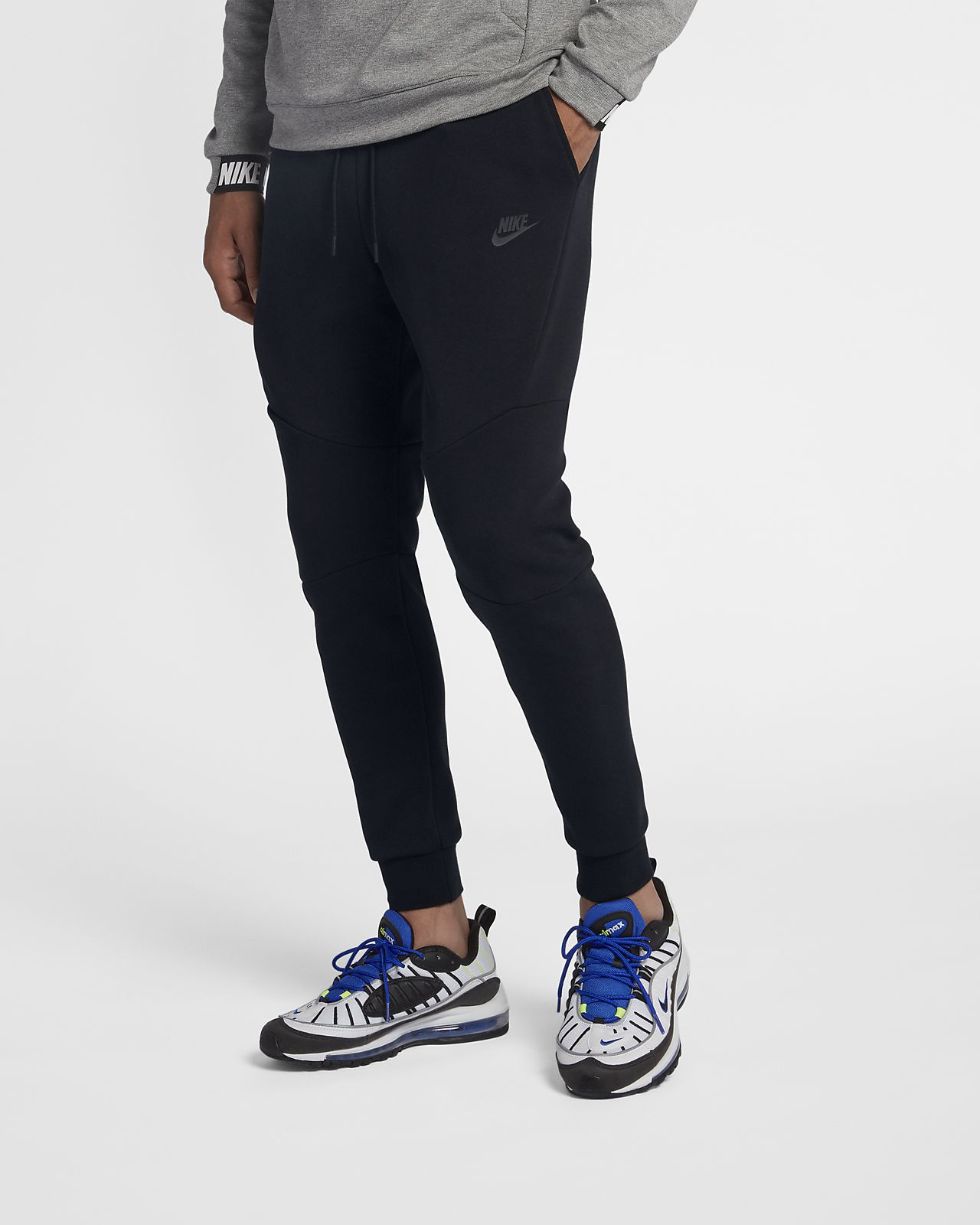 Sequoia, Sequoia, černá, černá Nike Tech Camo Fleece Mikina
