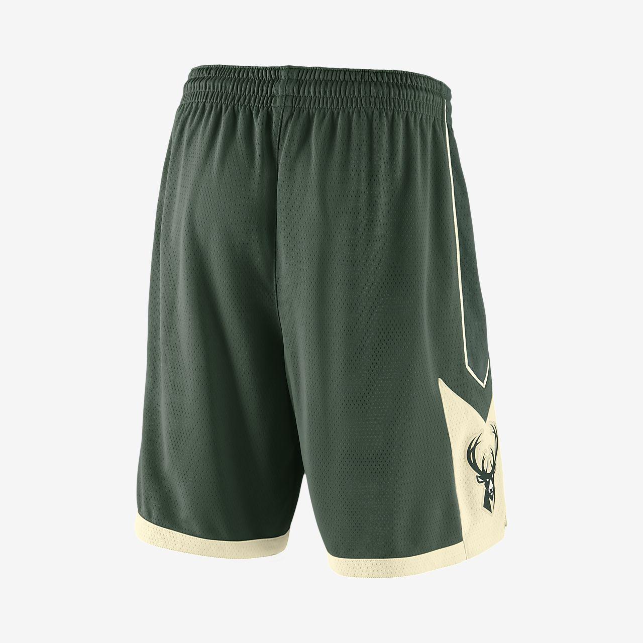 ... Milwaukee Bucks Nike Icon Edition Swingman Men's NBA Shorts