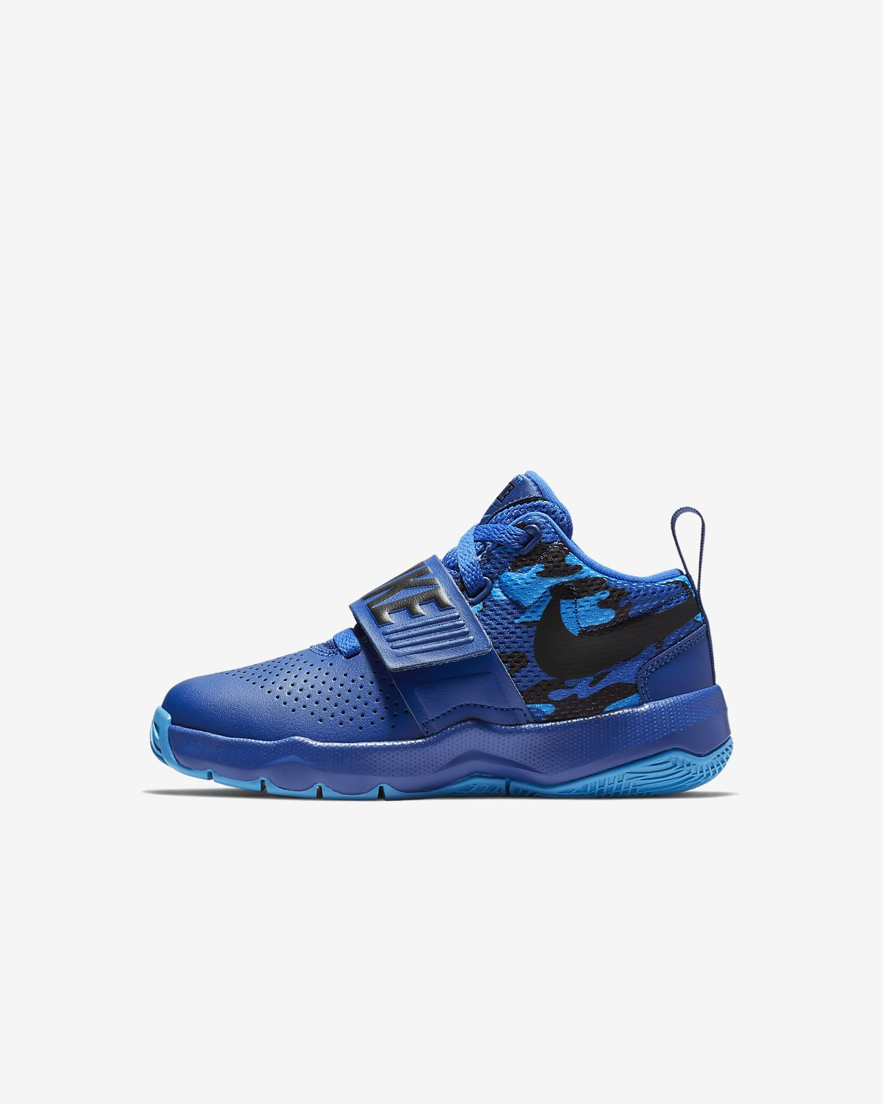 Team Hustle Quick Youth Basketball Shoe