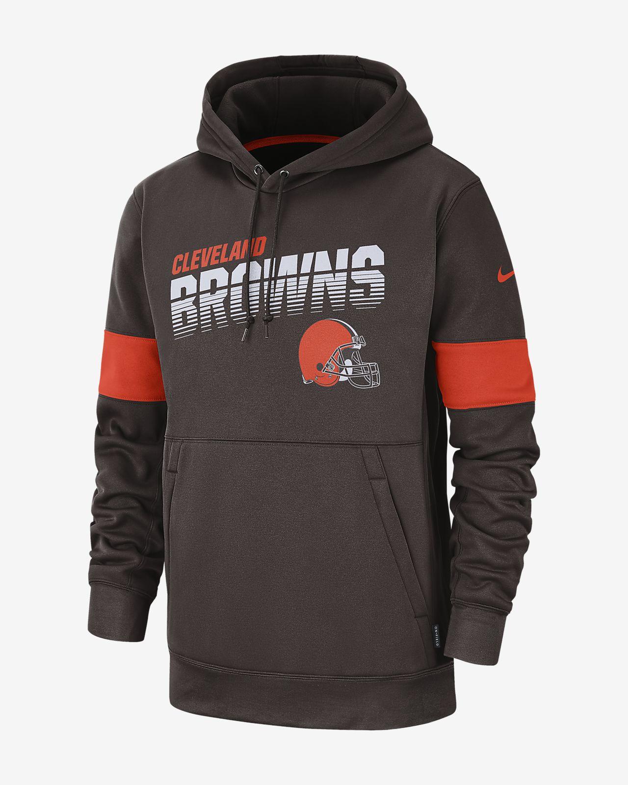 online retailer 5320a 74161 Nike Therma (NFL Browns) Men's Hoodie