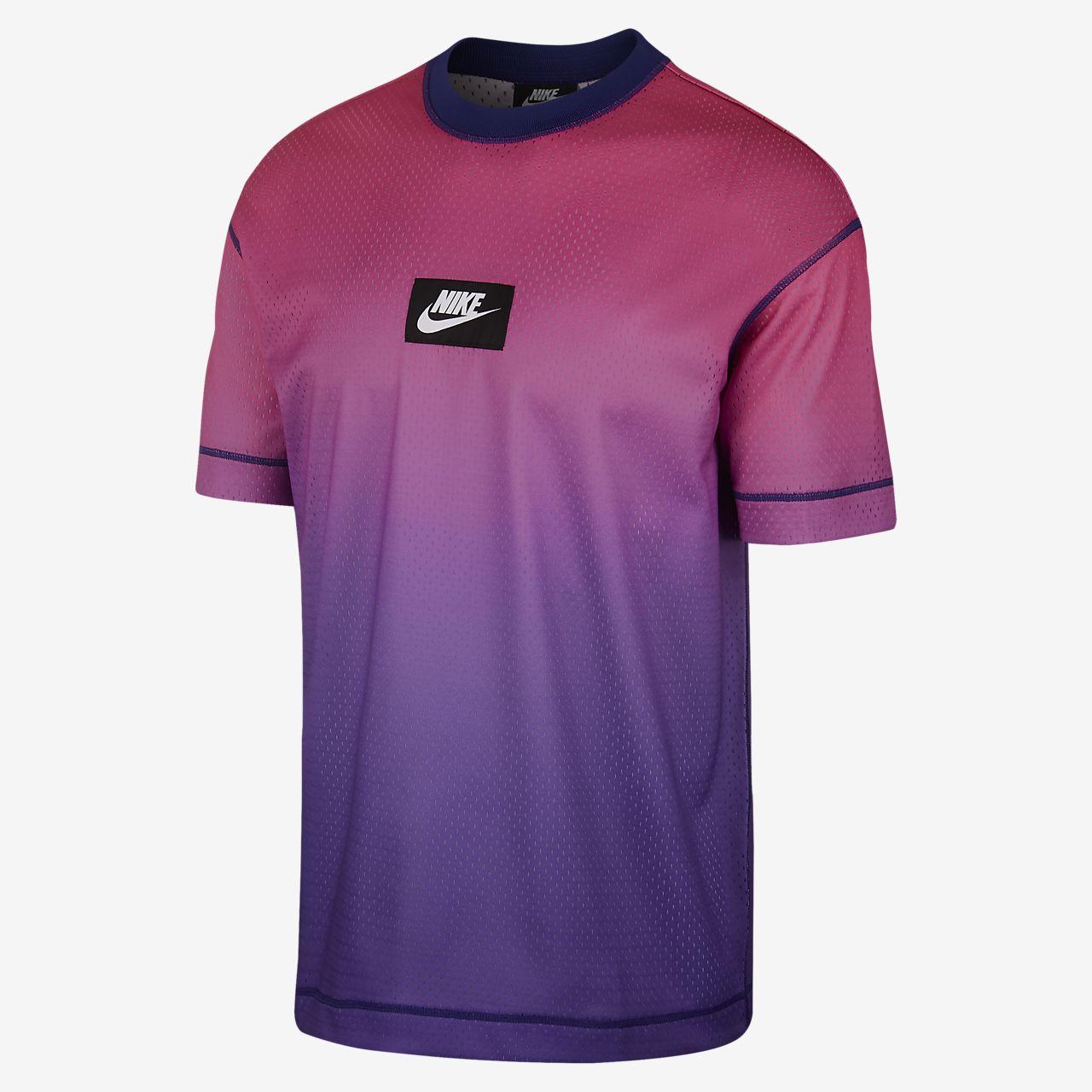 Nike Sportswear Mesh 男子短袖上衣
