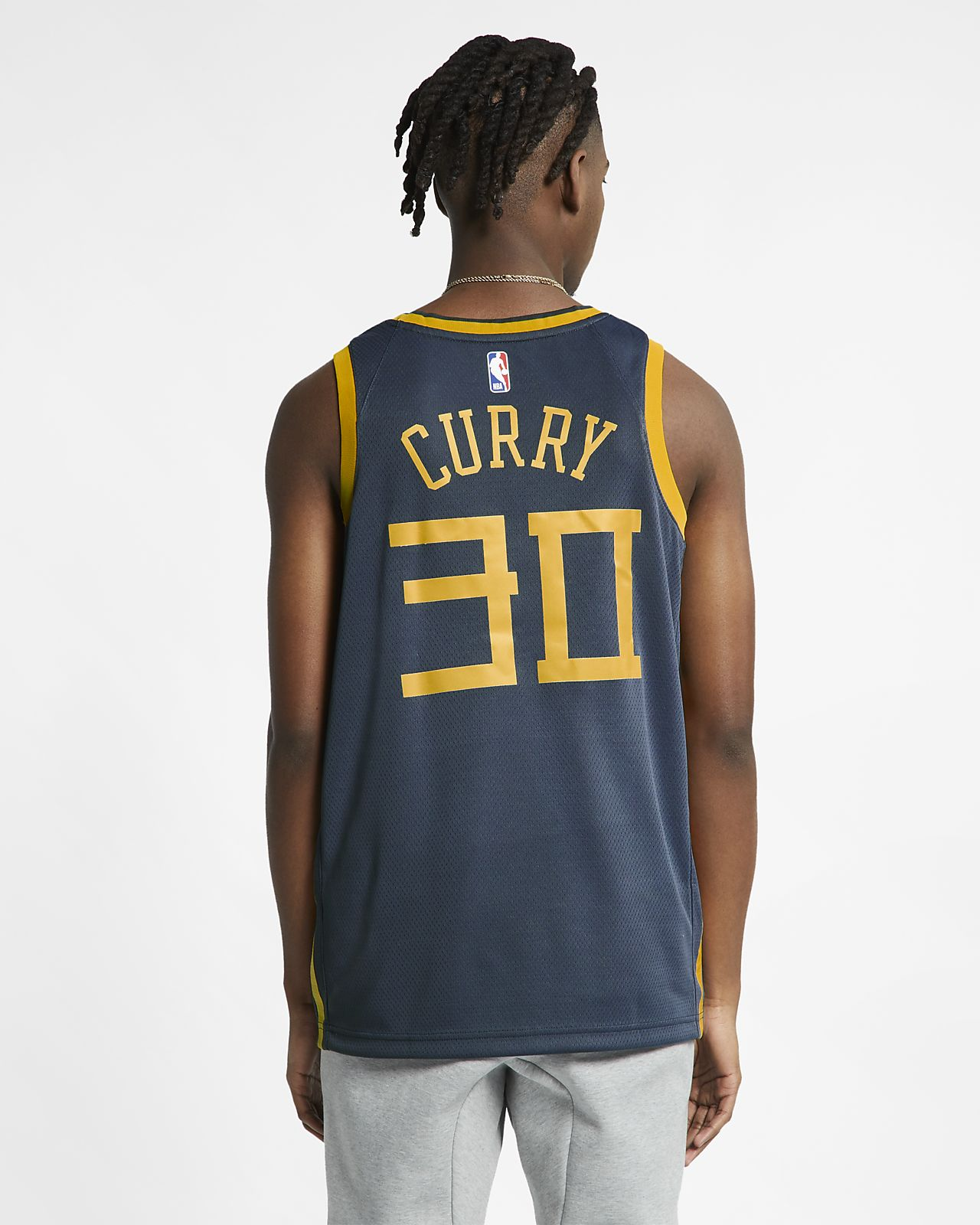 18e5a51cc36 ... Stephen Curry City Edition Swingman (Golden State Warriors) Men's Nike  NBA Connected Jersey